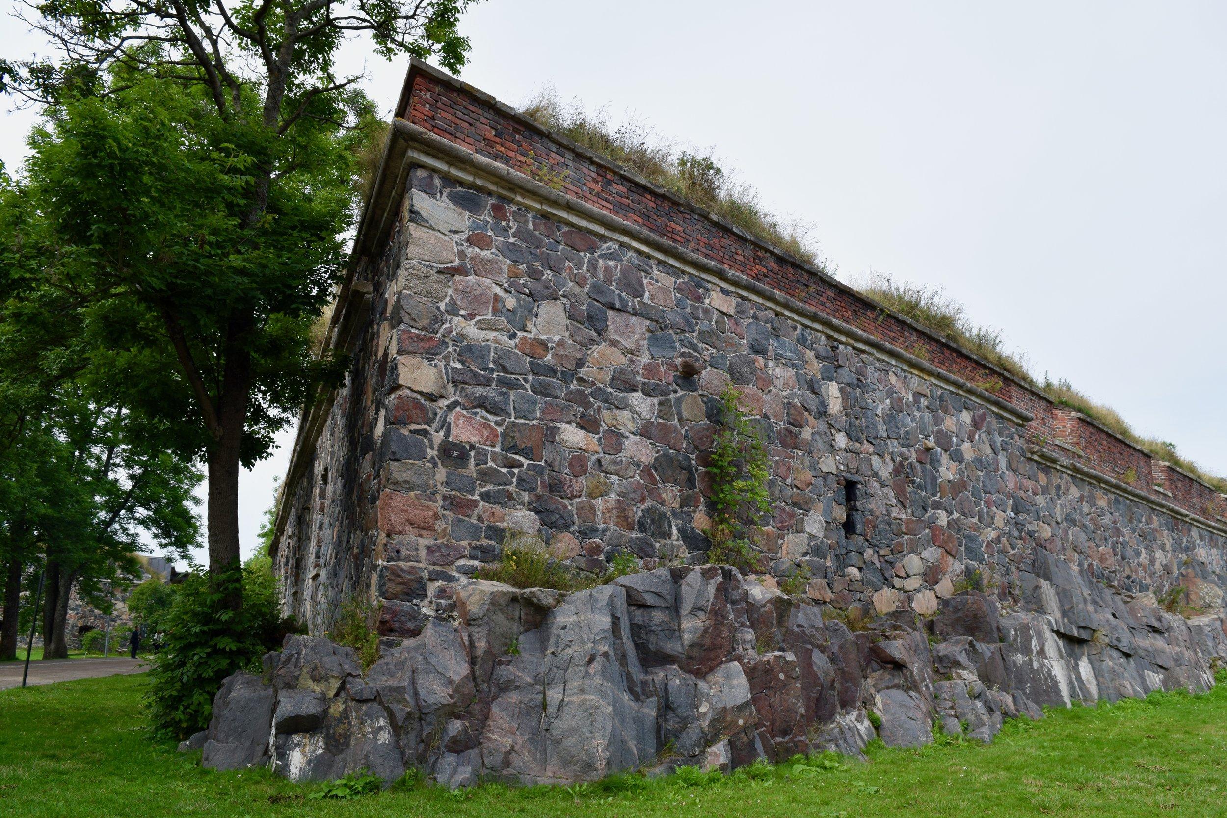 Fortress in Suomenlinna