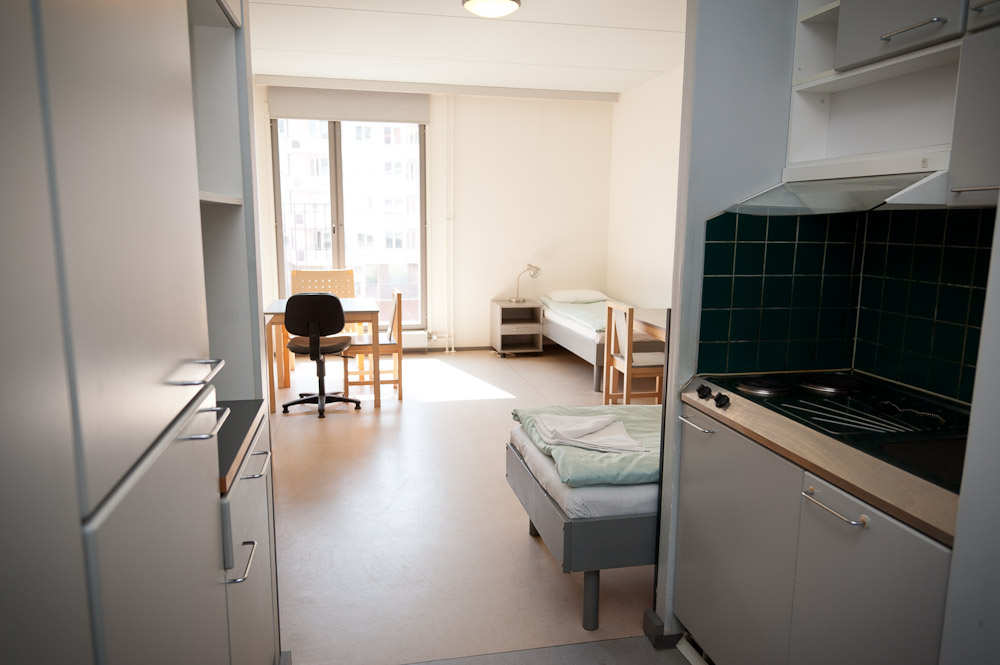 Domus Academica Helsinki double room