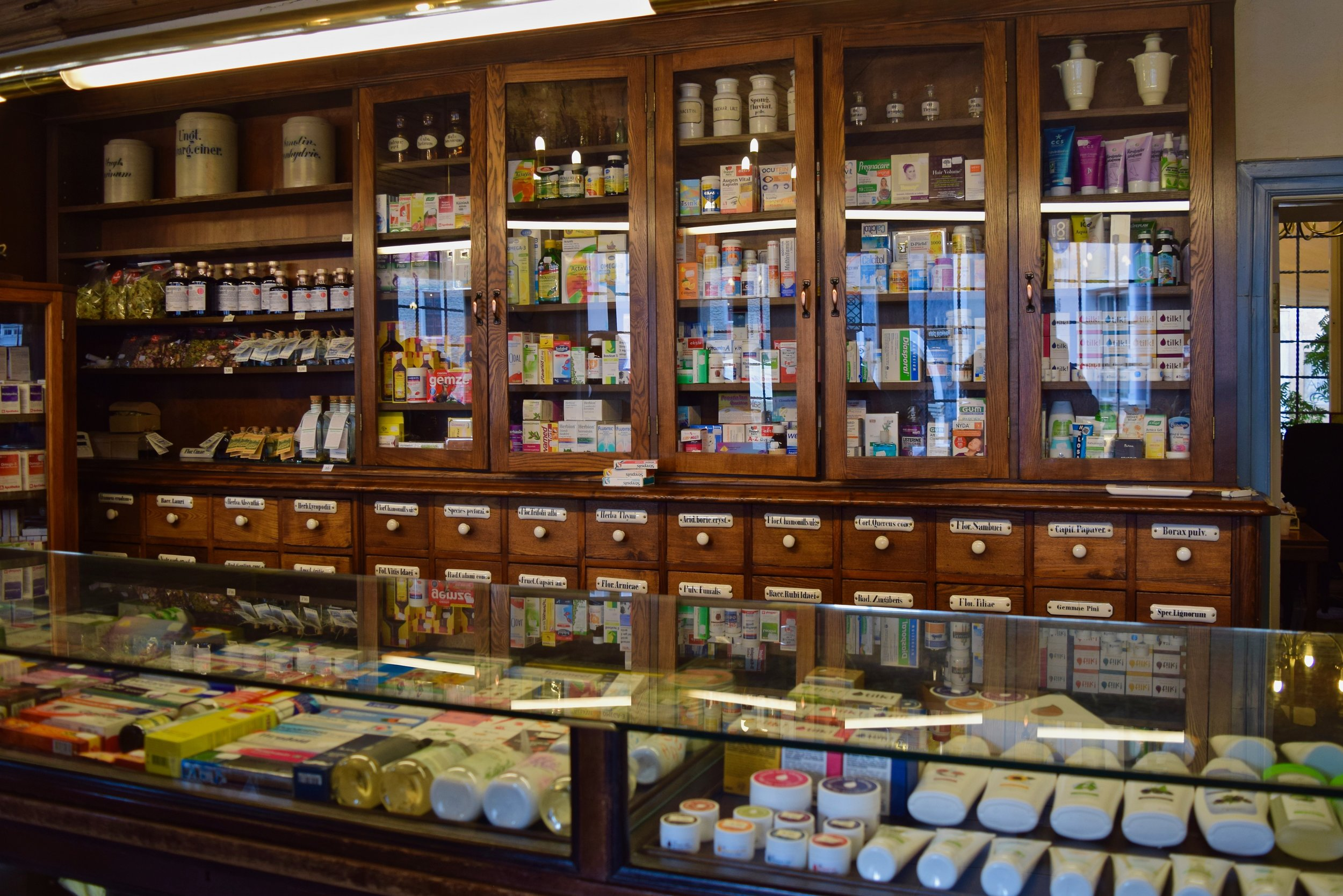 Interior of the Pharmacy