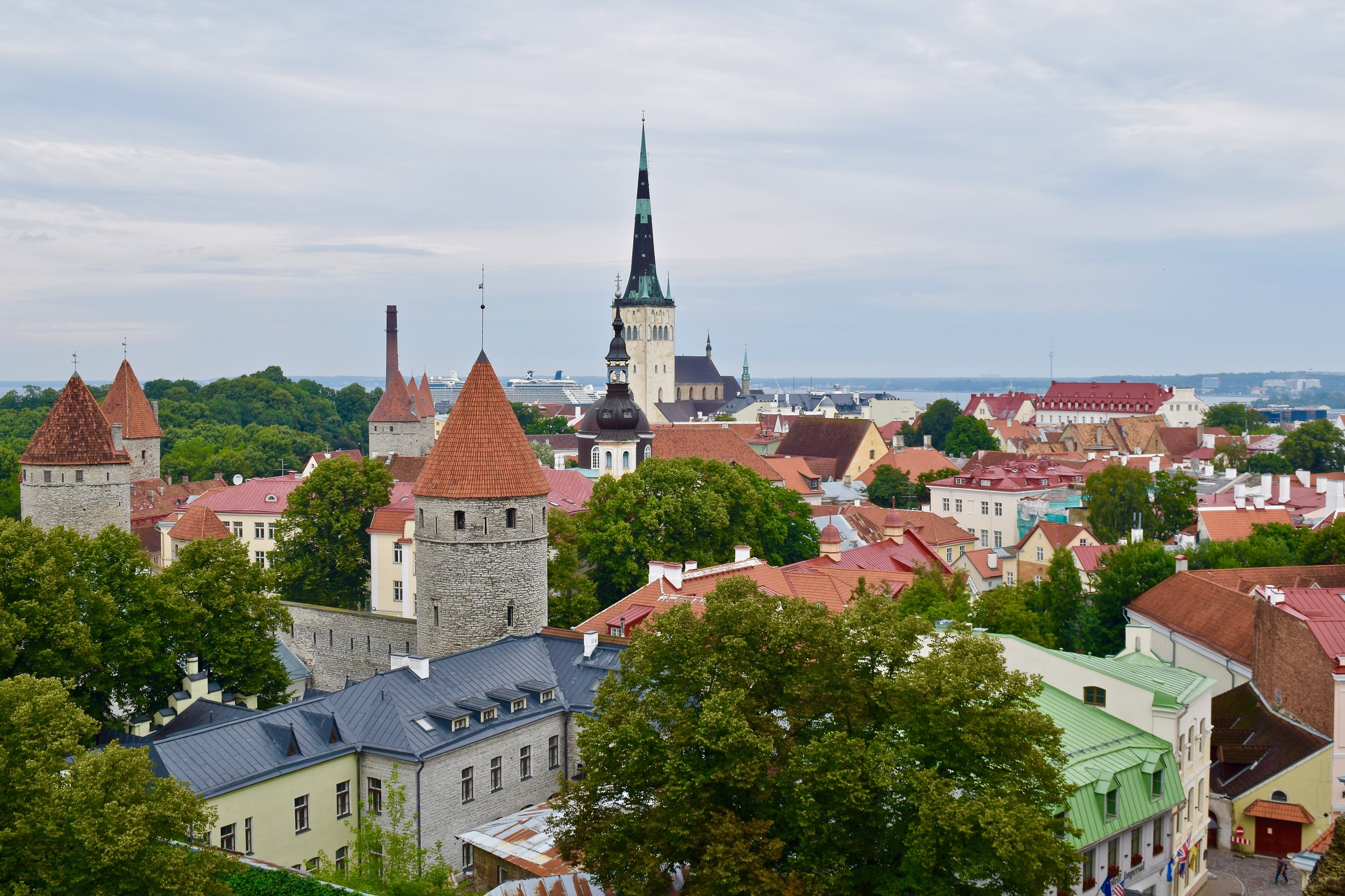 View from Toompea Hill