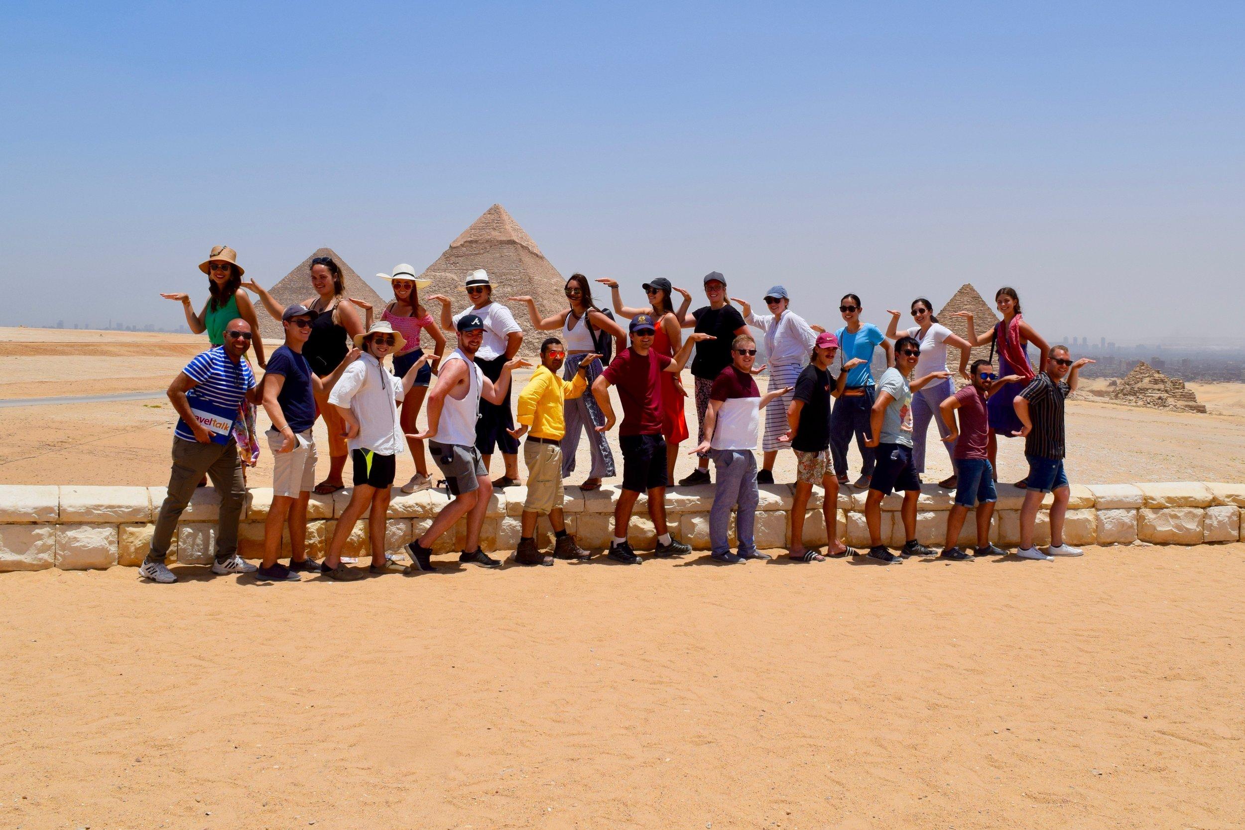 Travel Talk Tour group