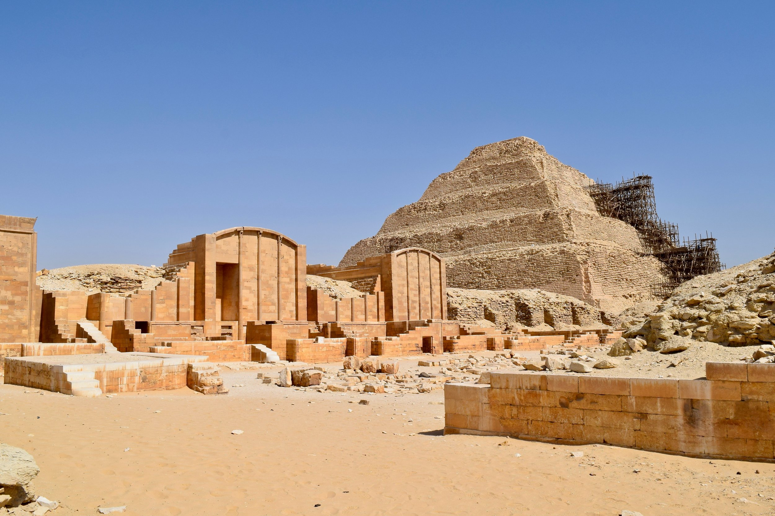 Step Pyramid of Sakkara