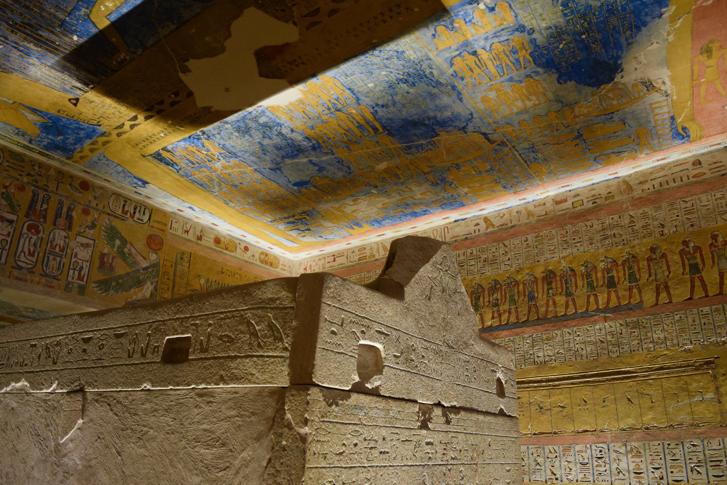 Tomb Ramses VI Valley of the Kings Luxor