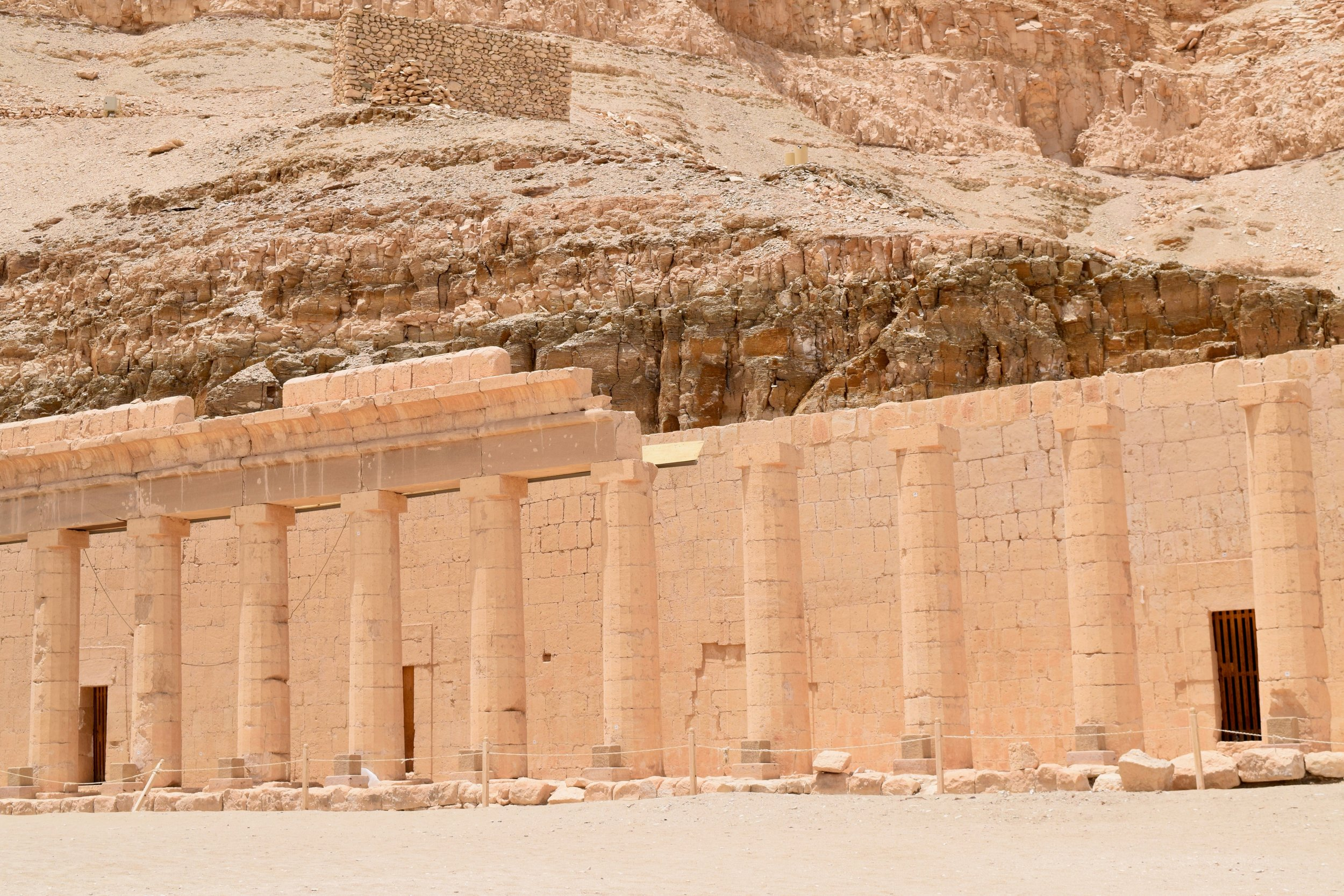 Classical architecture in Hatshepsut Temple