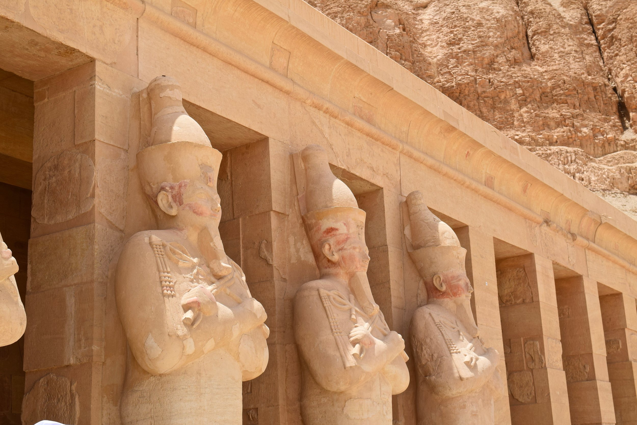 Statues of the Pharaoh