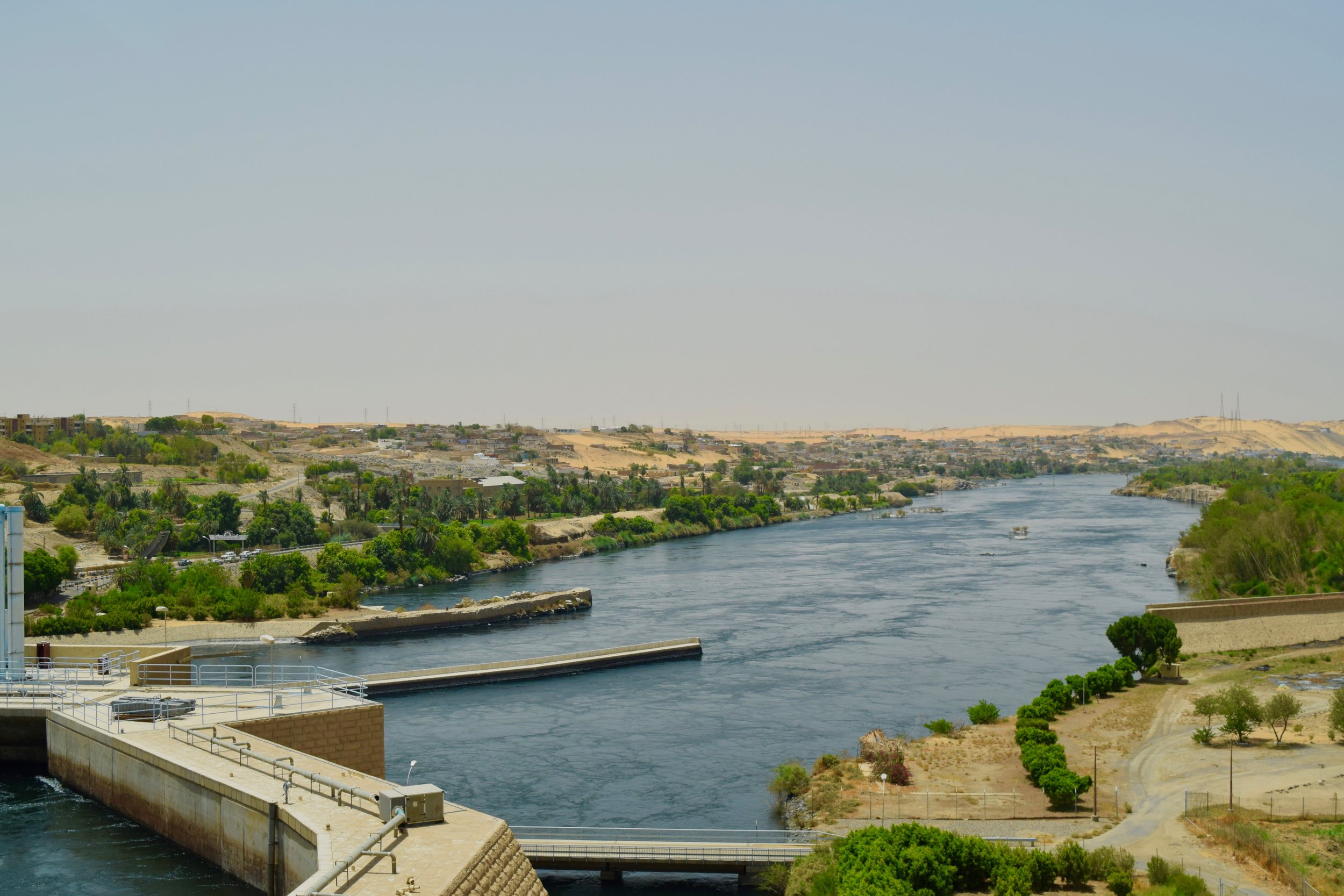 High Dam Aswan Egypt