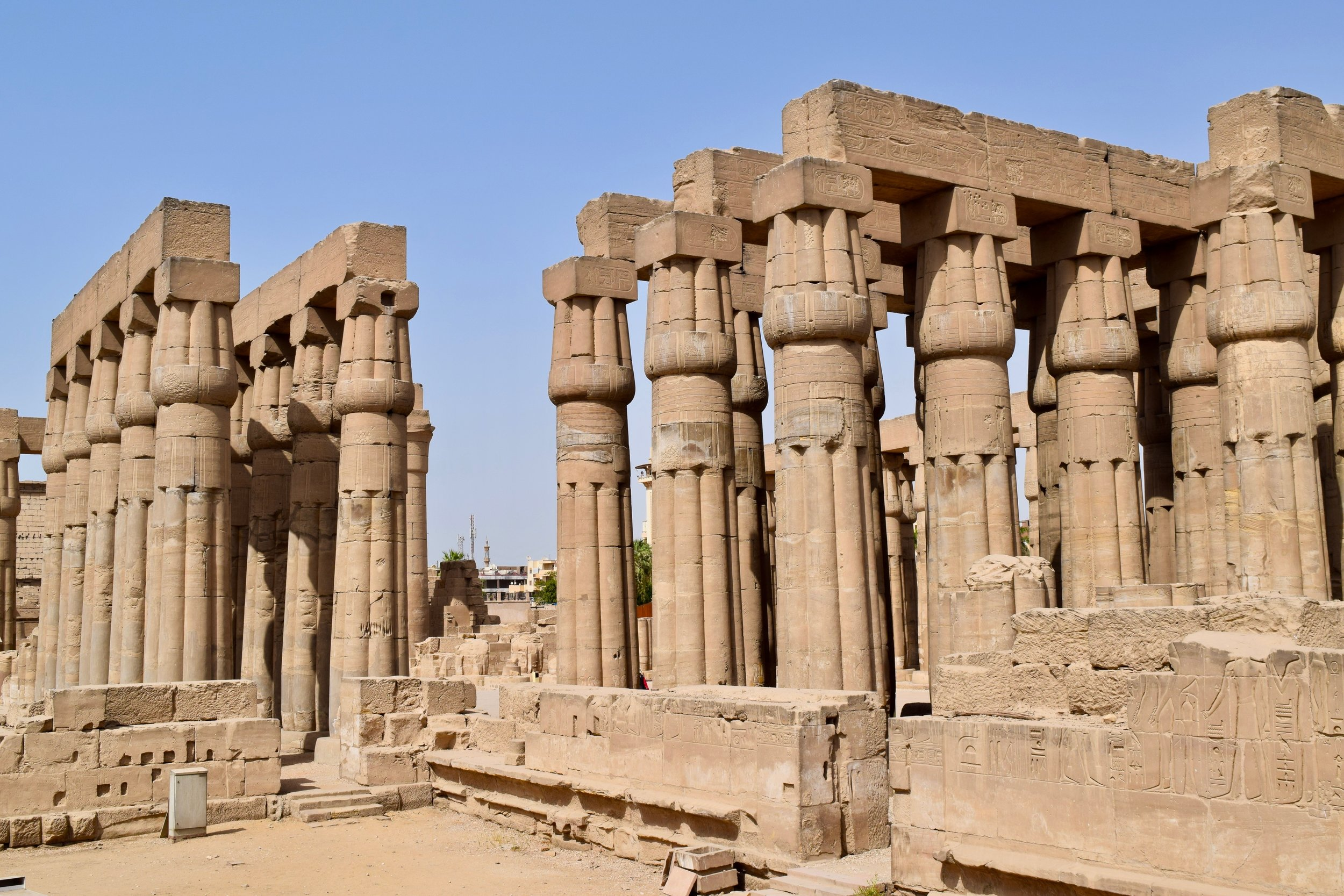 Luxor Temple from the exterior