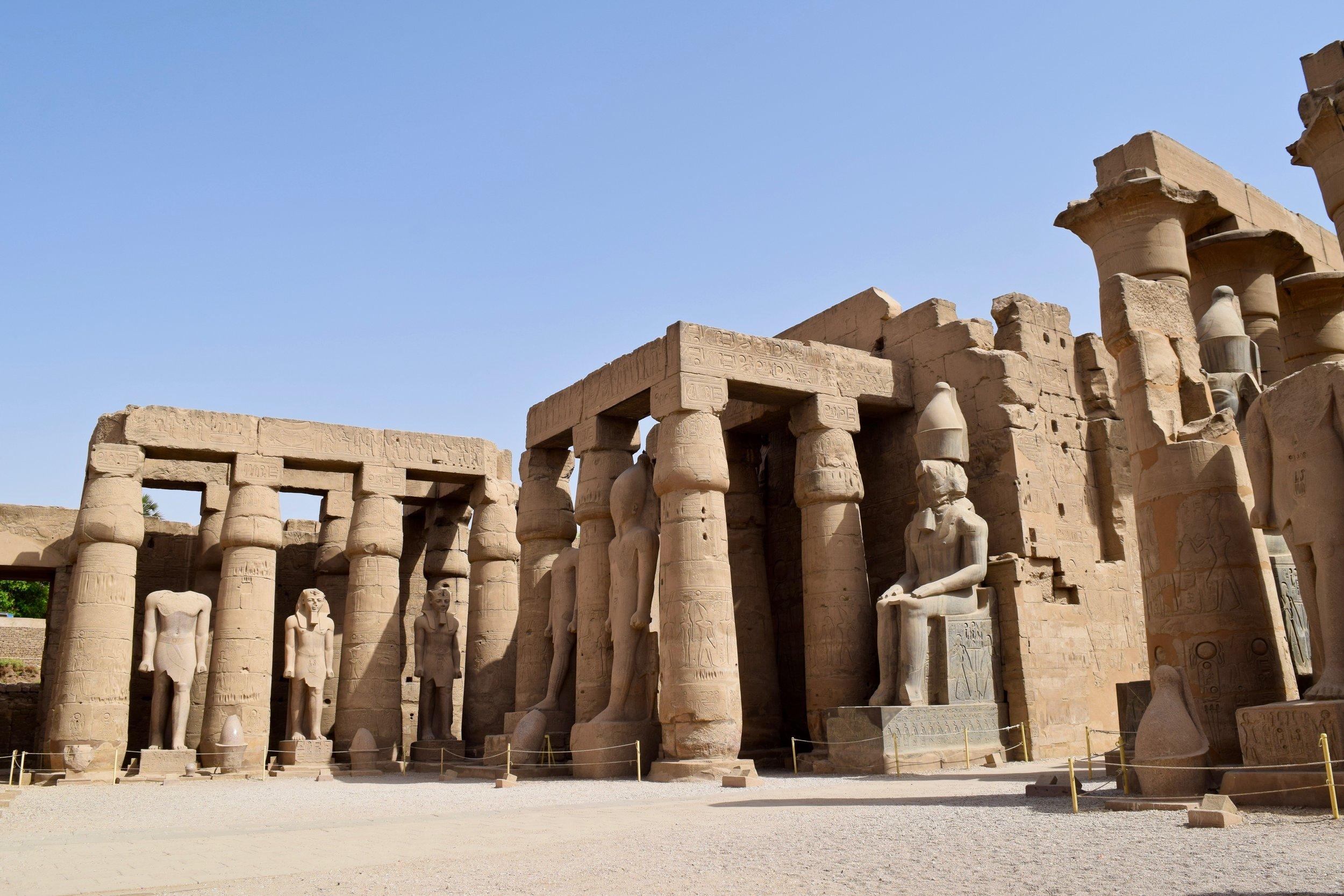 Rameses II's court