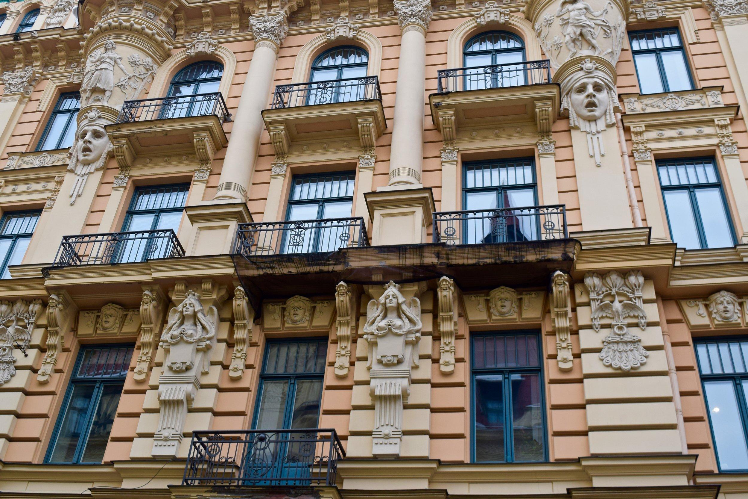 Riga Letonia Art Nouveau