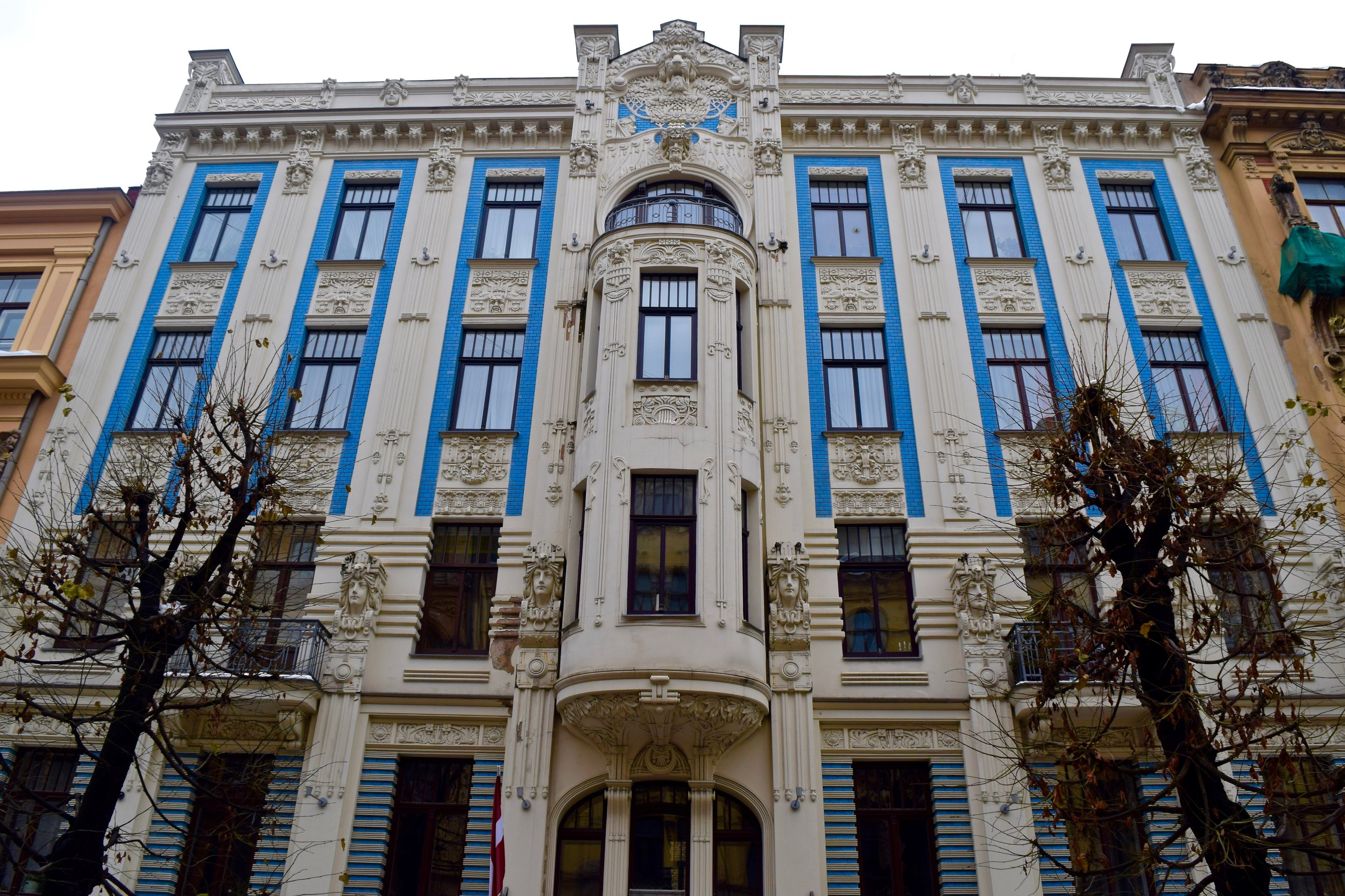 Riga Latvia Art Nouveau