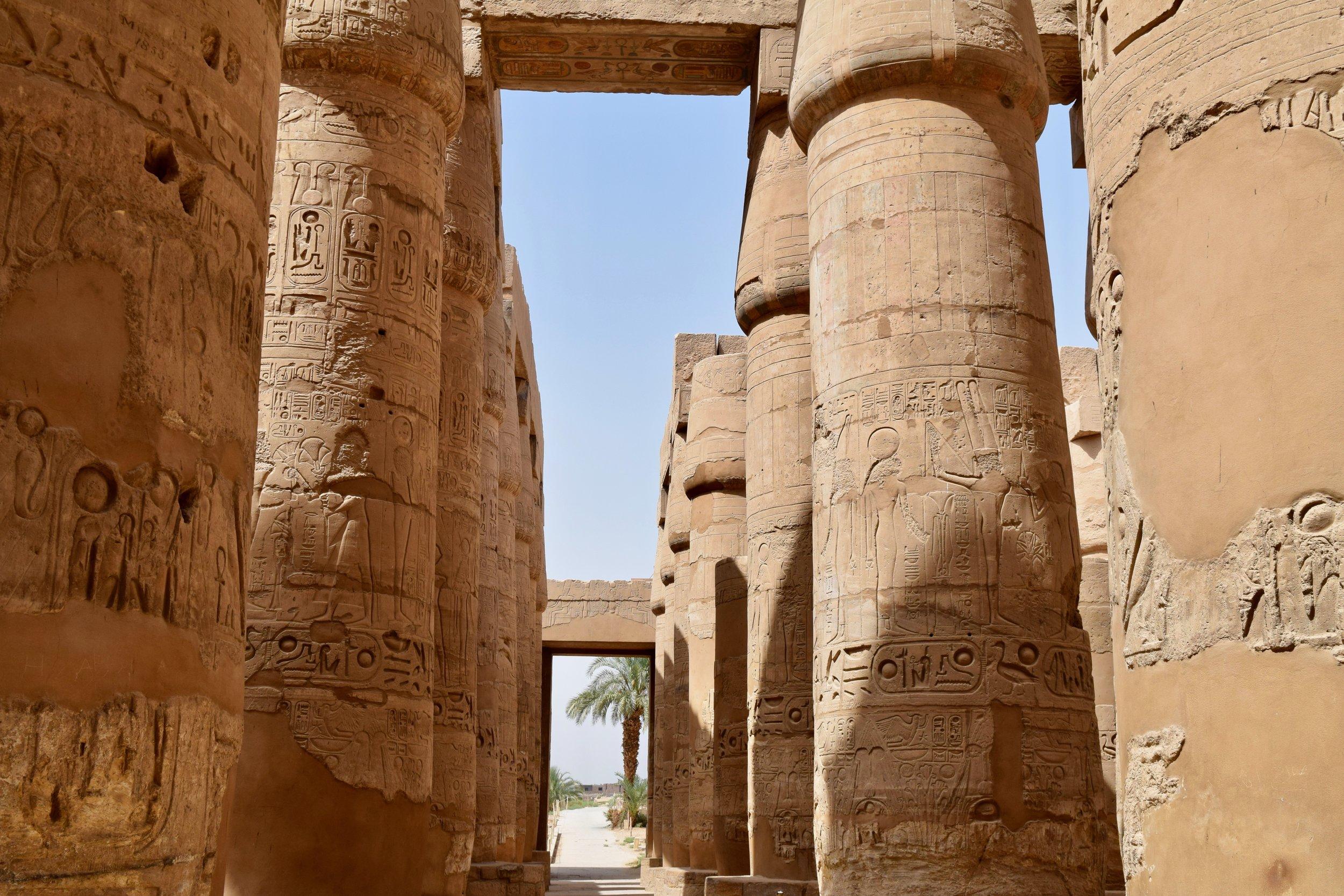 Hypostyle Hall Karnak Temple Luxor