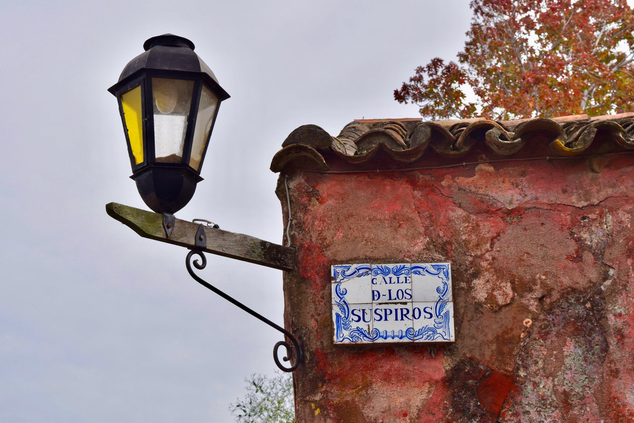 Letrero de la calle