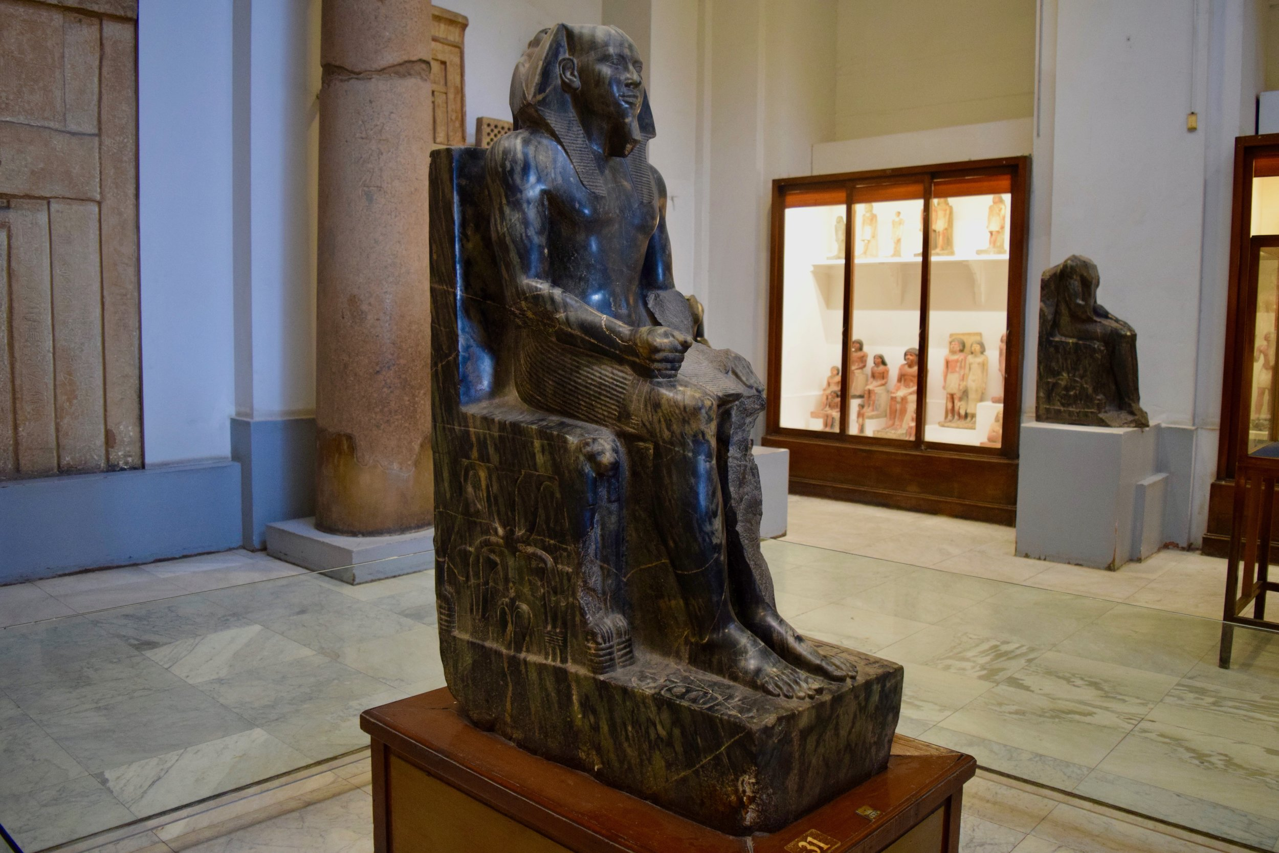 Diorite statue of King Chephren