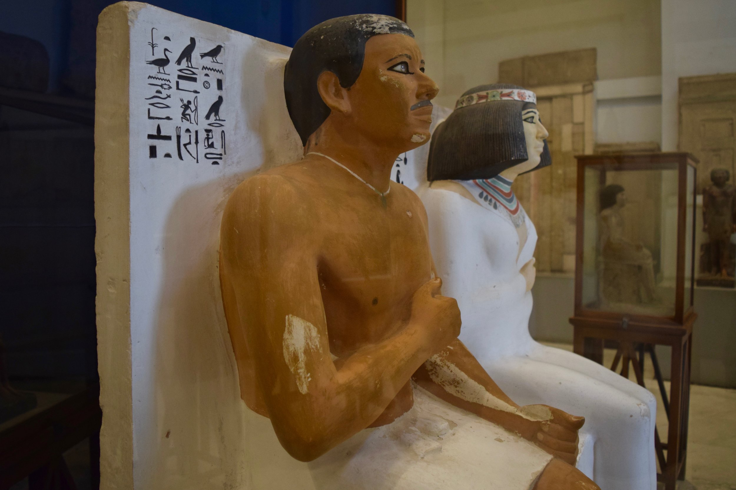 Rahotep and his wife Nofret