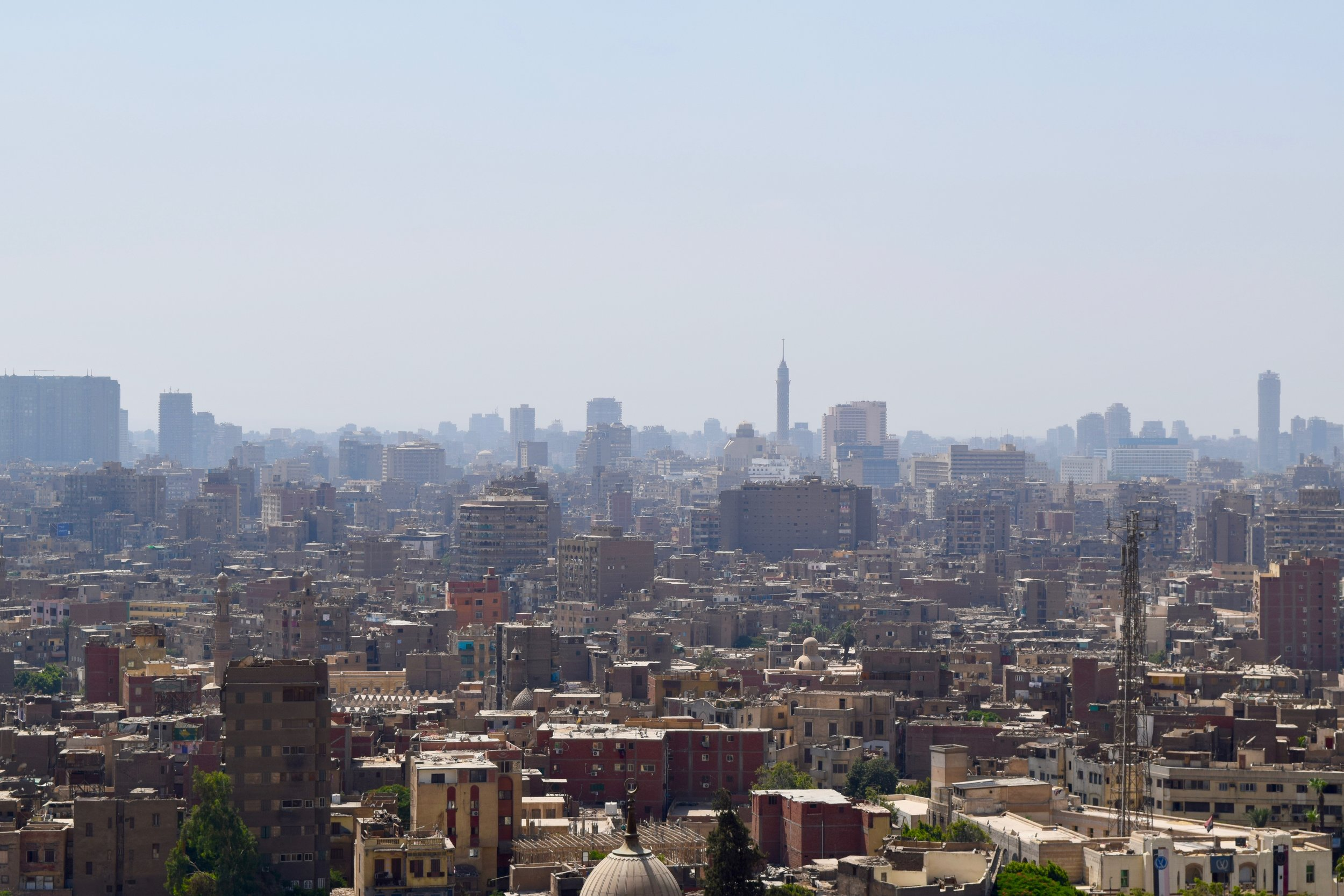 View of Cairo from the Citadel of Saladin