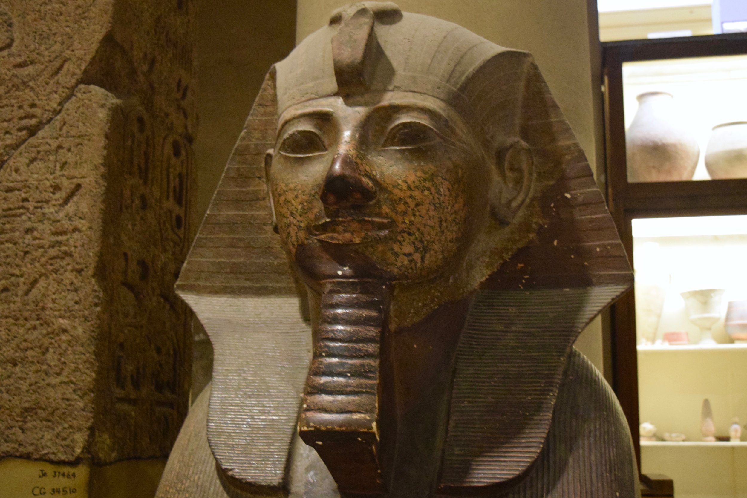 Bust of a pharaoh
