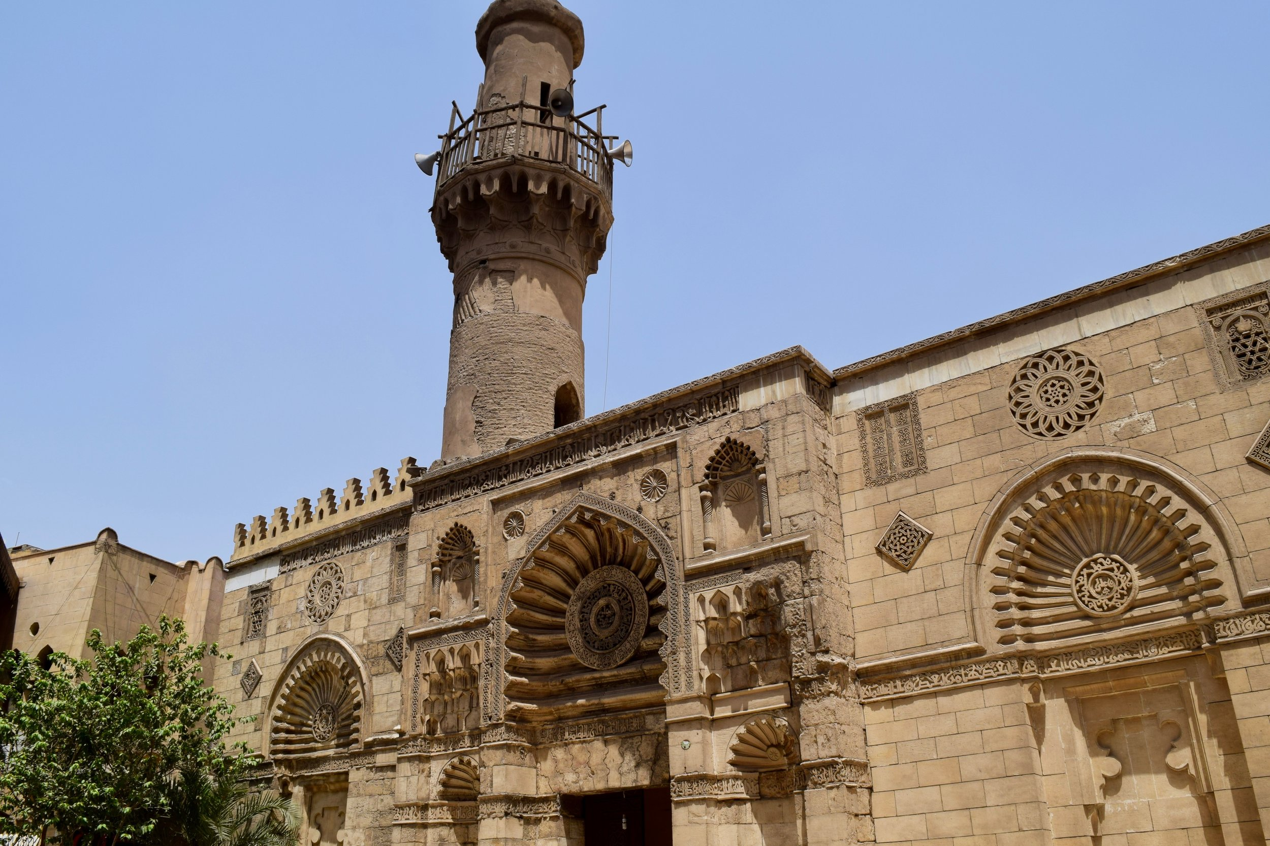 Islamic building in Cairo