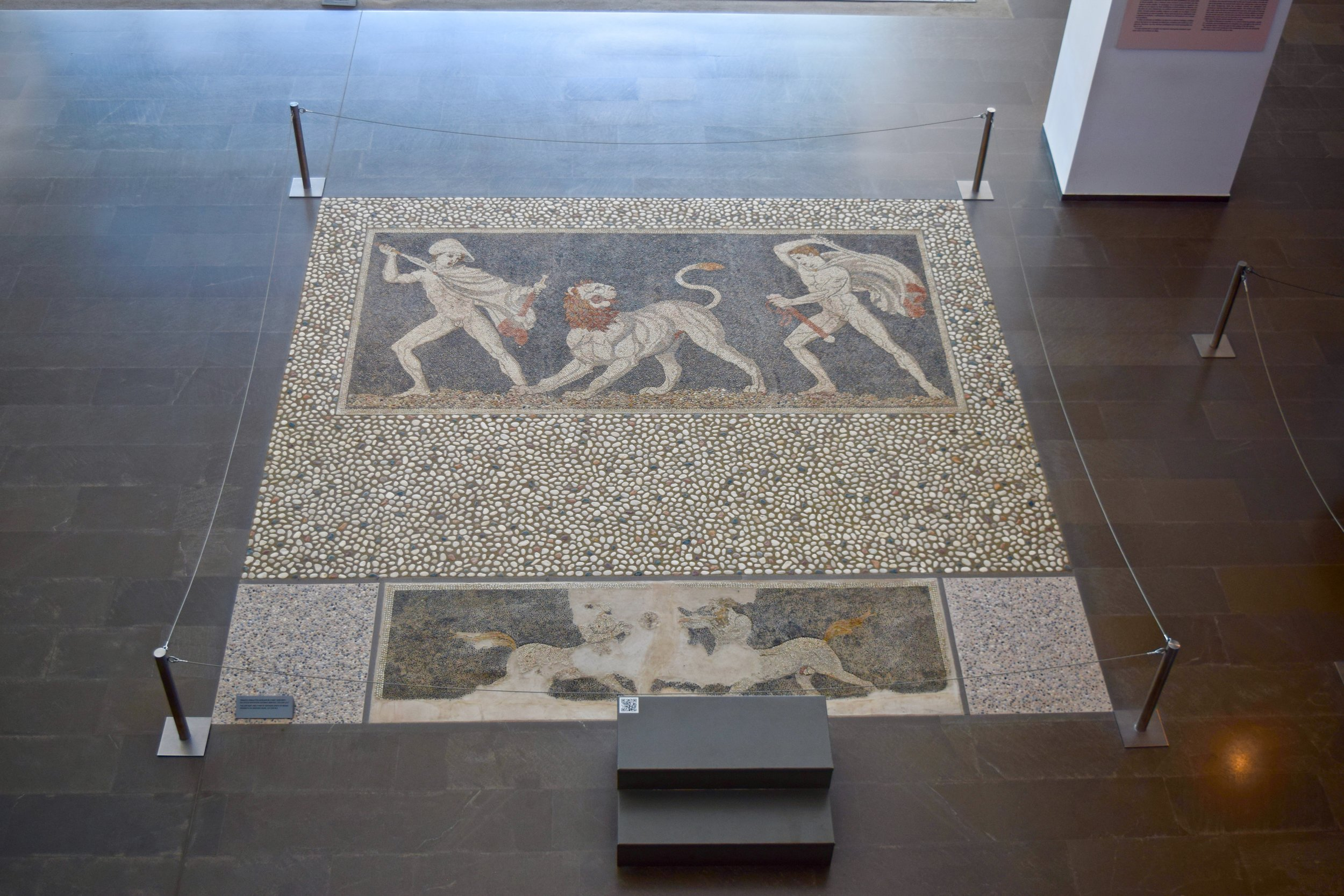 Lion hunt mosaic