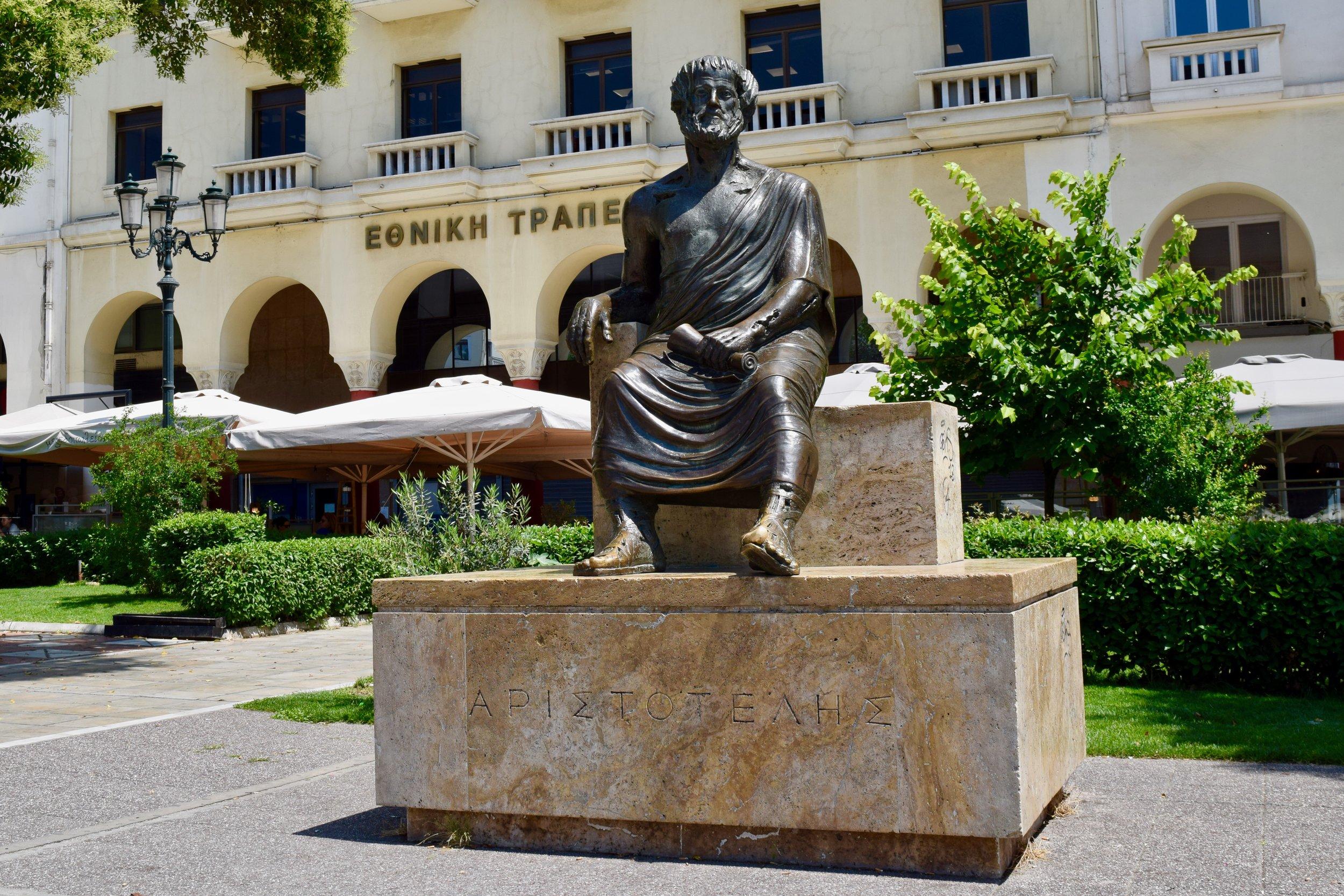 Statue of Aristotles