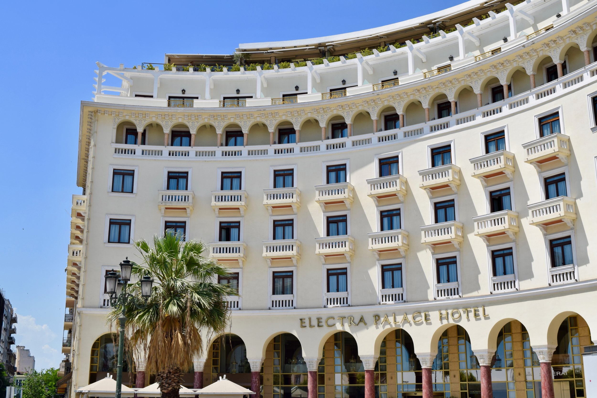 Building of the Electra Palace Hotel