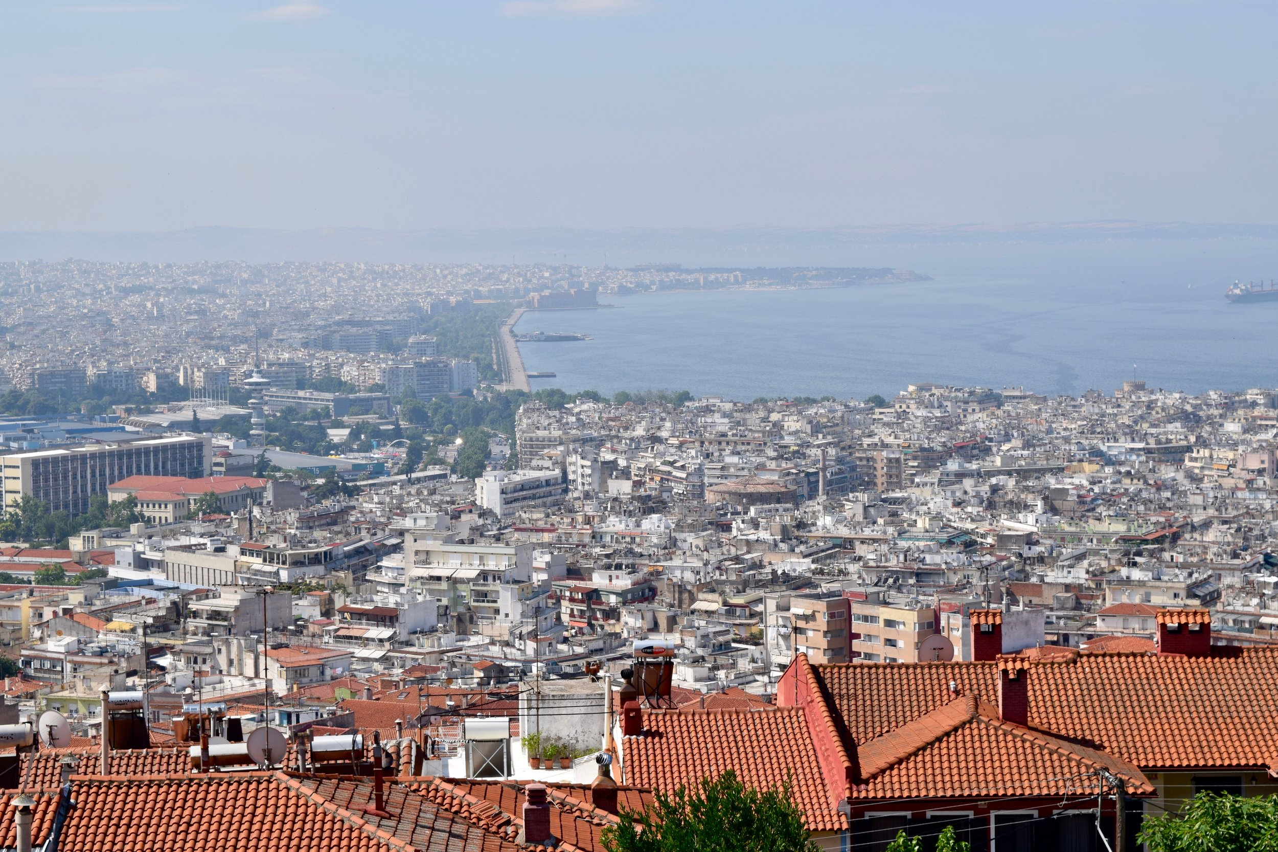 Thessaloniki from the upper town