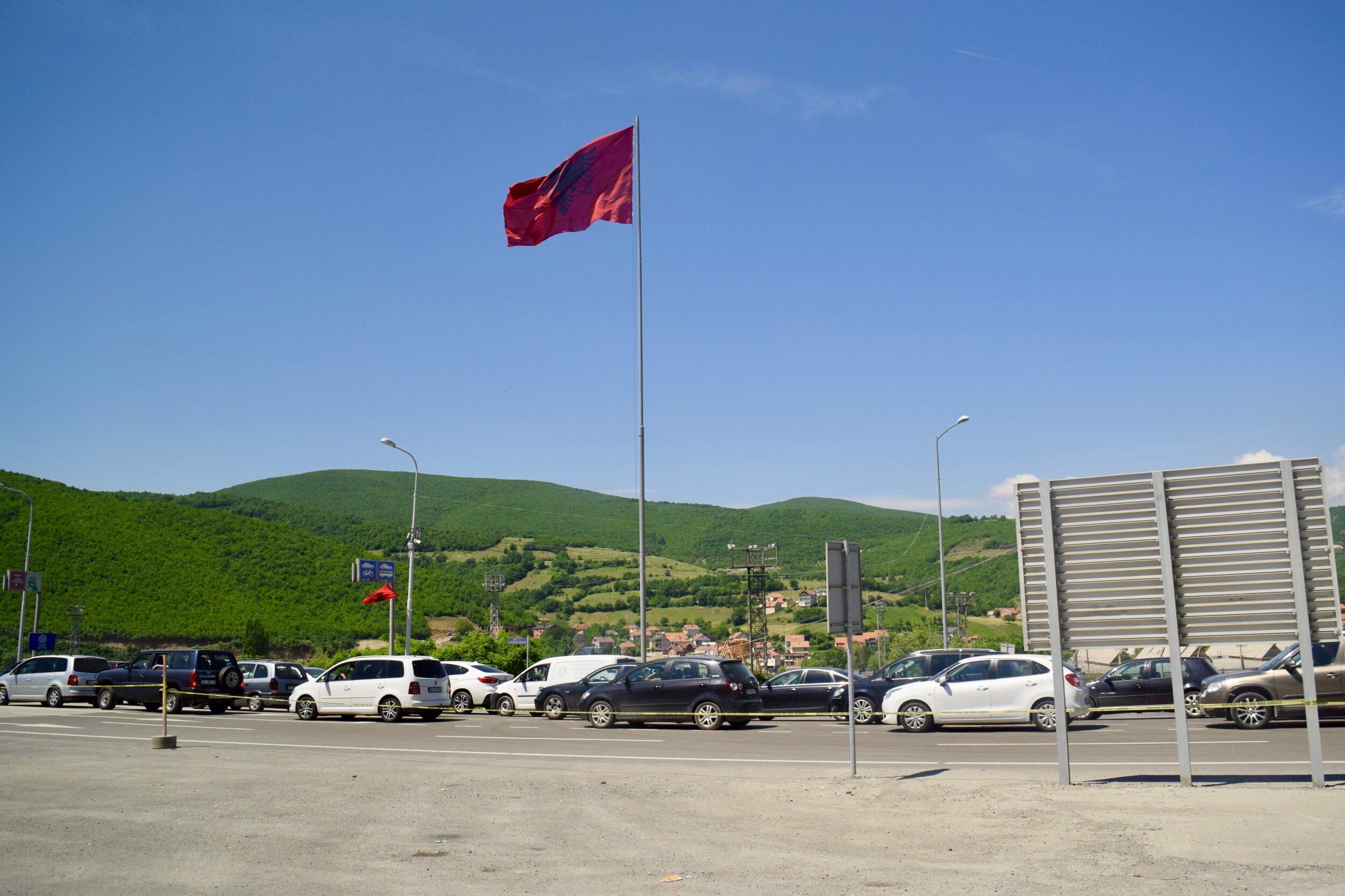 Border between North Macedonia & Kosovo