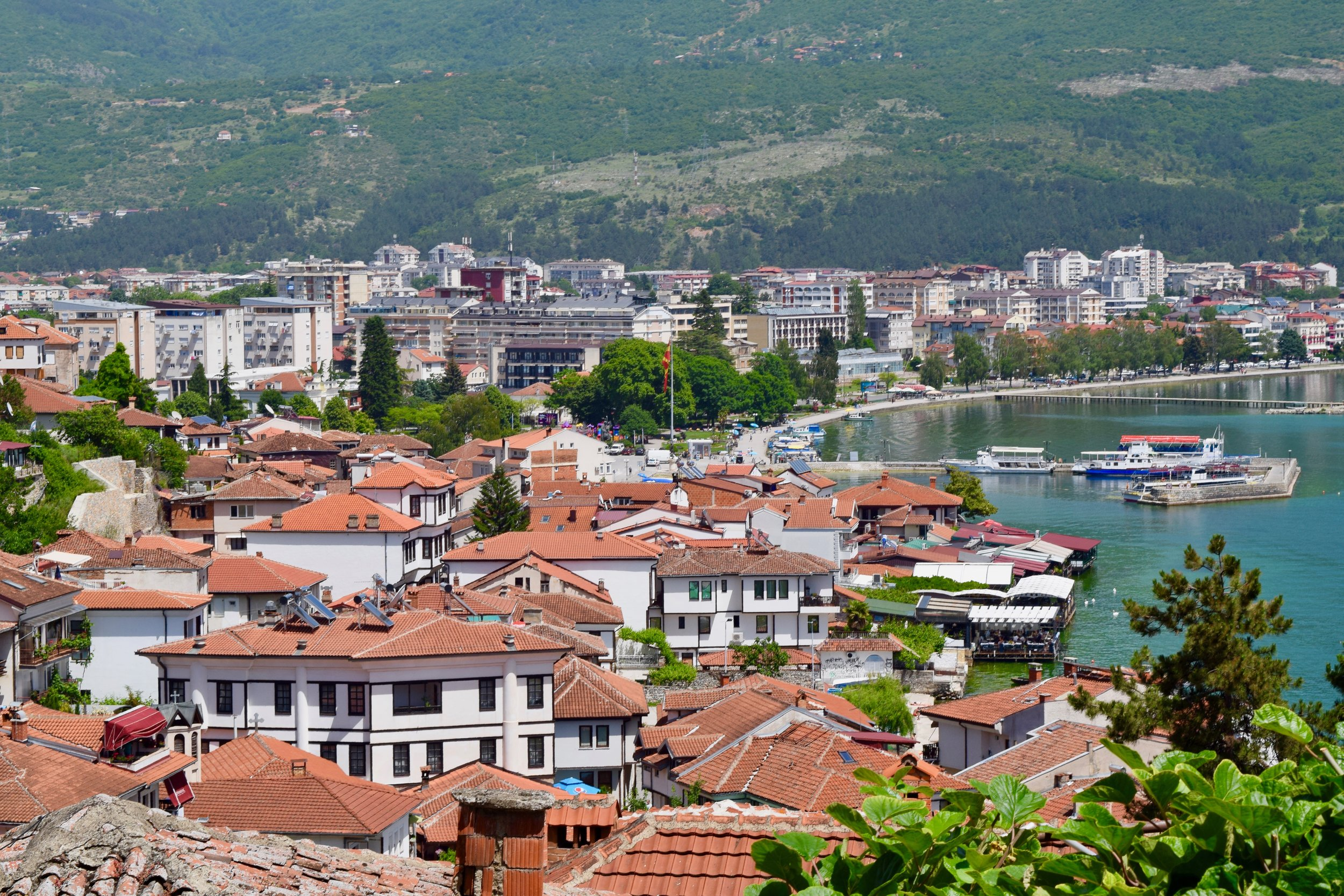 View of Ohrid