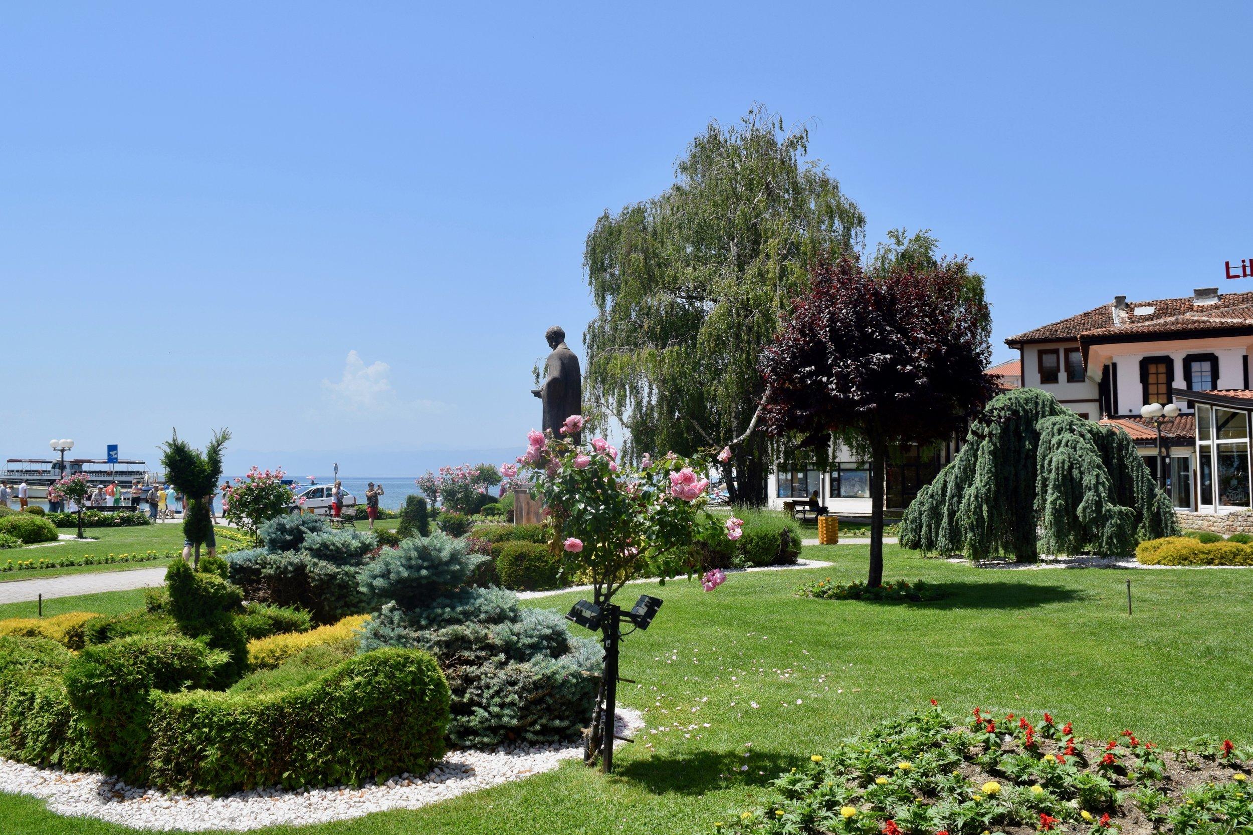 City Square of Ohrid