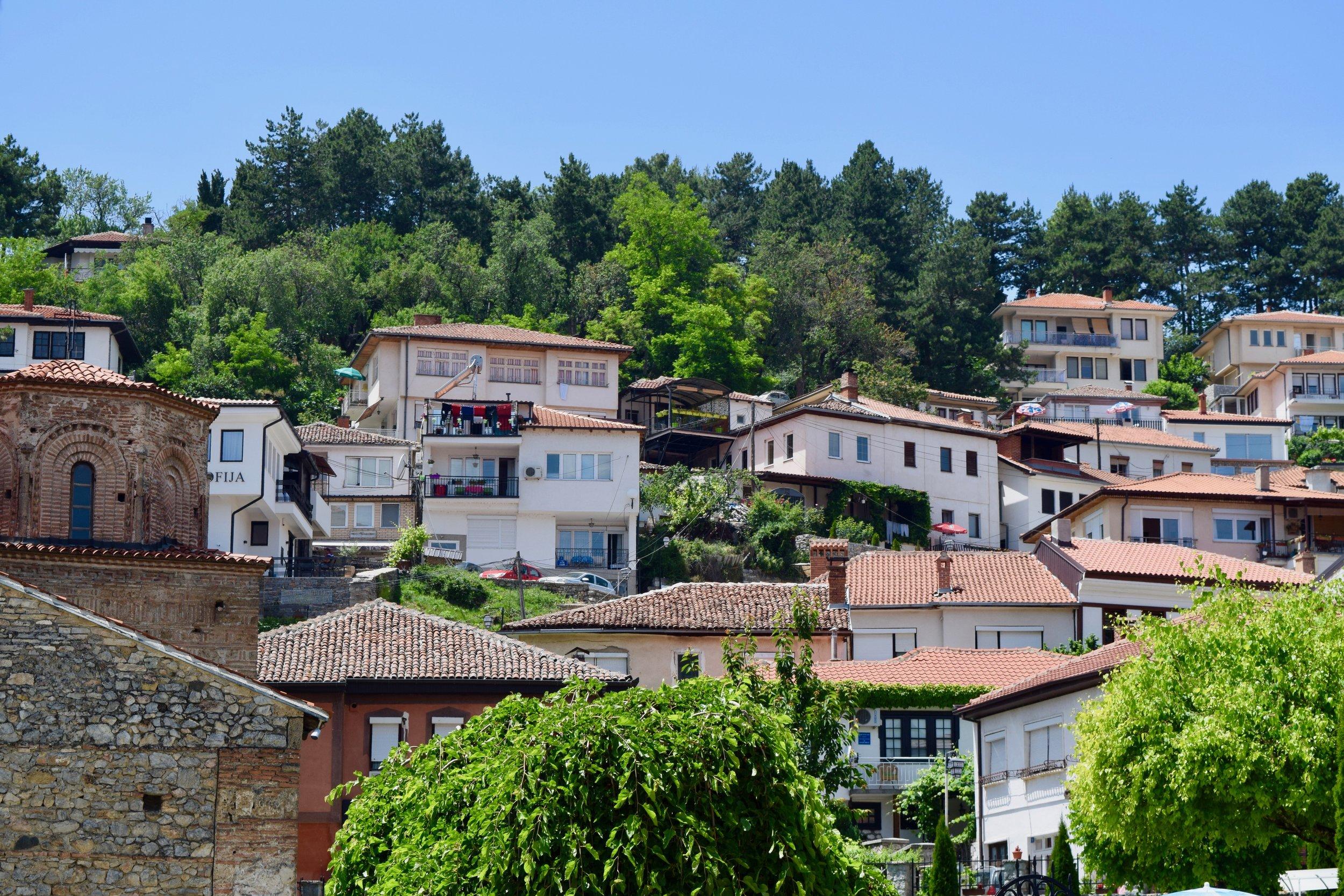 Houses in Ohrid