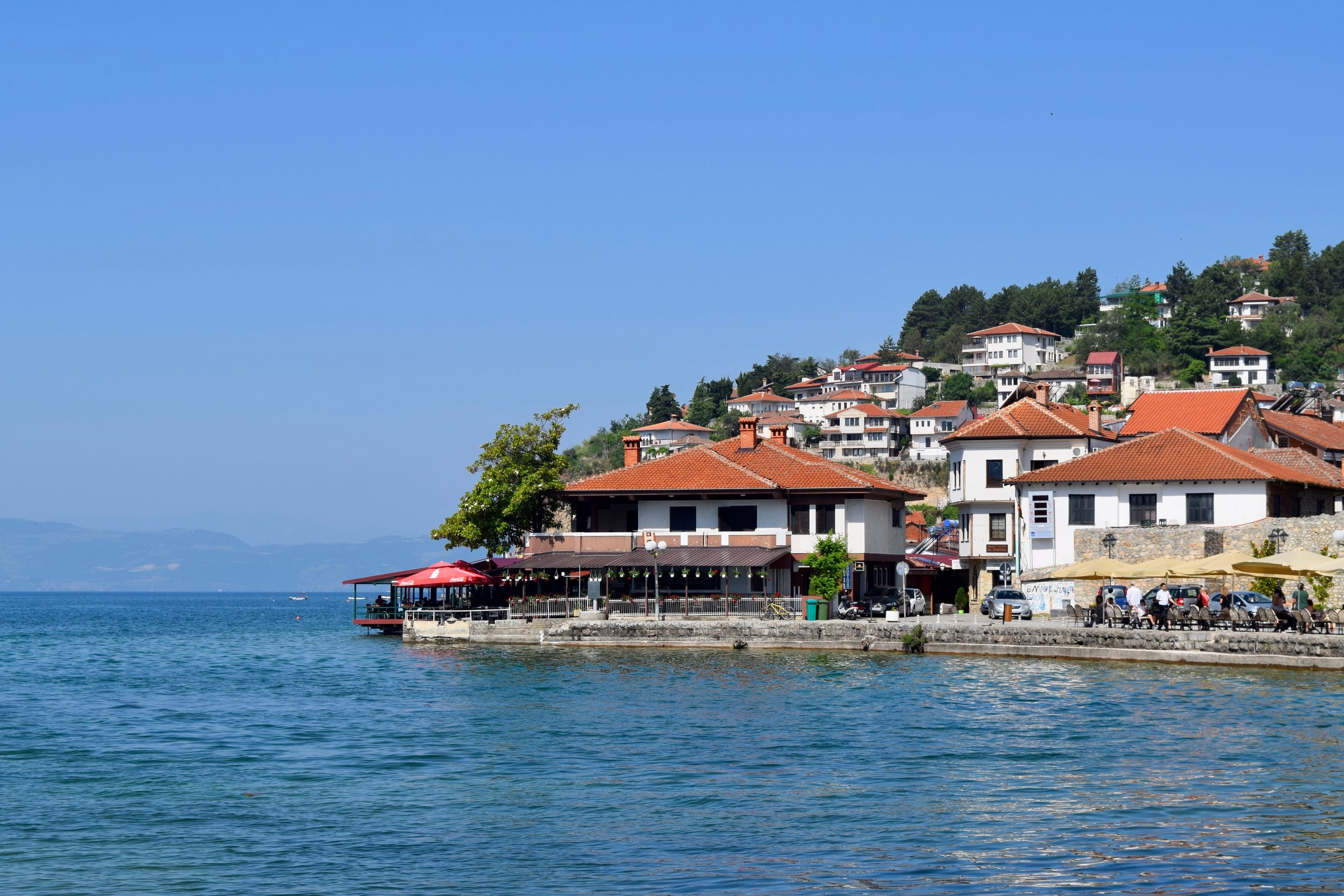 Beach of Ohrid
