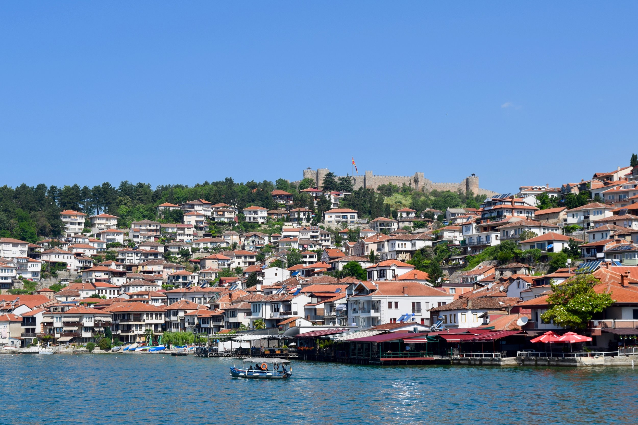 Ohrid and the fortress