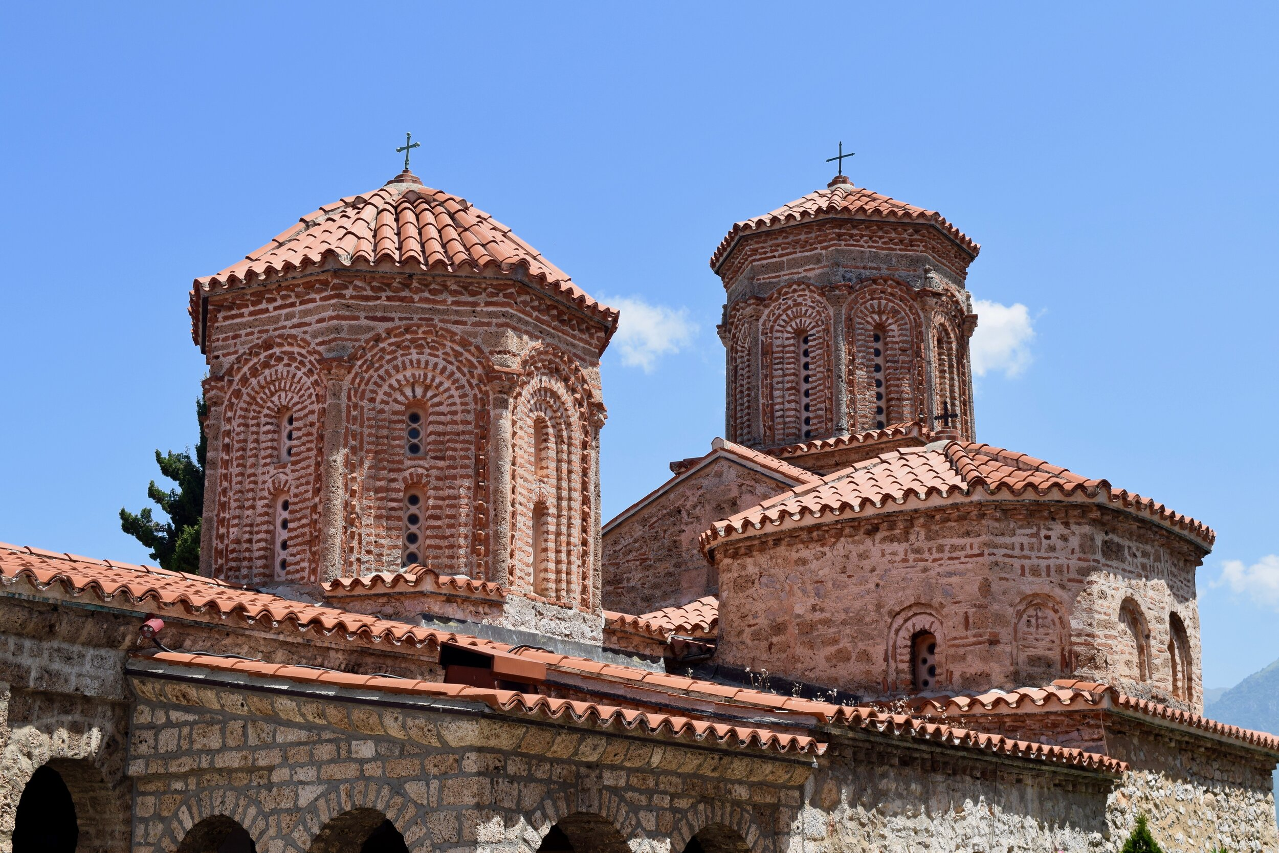 Towers of the church