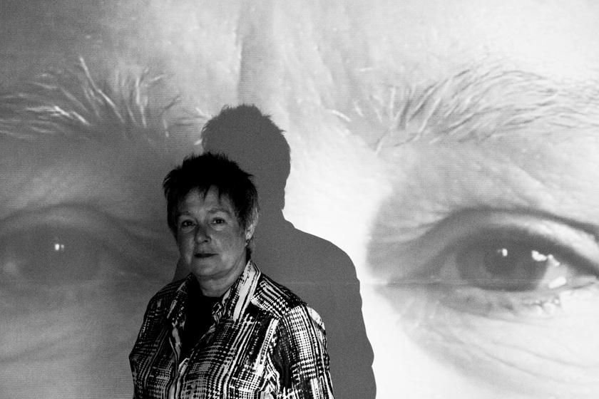 Tuesday 28 May - SELF/ OTHERI LOOK TO YOU by Eileen Haring Woods12 noon - 18.00 Two screen video workClick here to find out more