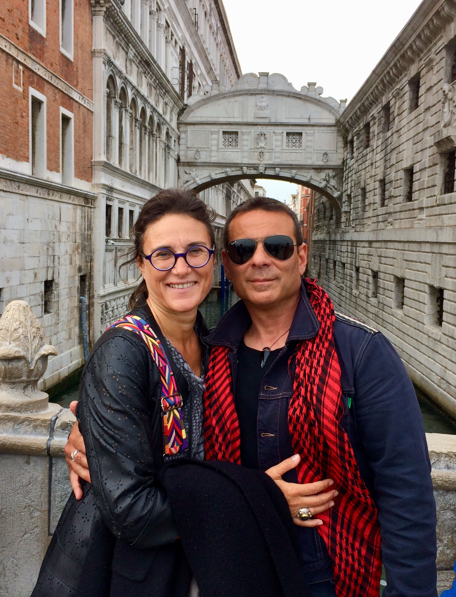 Isabelle derigo from switzerland Salvatore Cultrera from Italy Both living in Greece