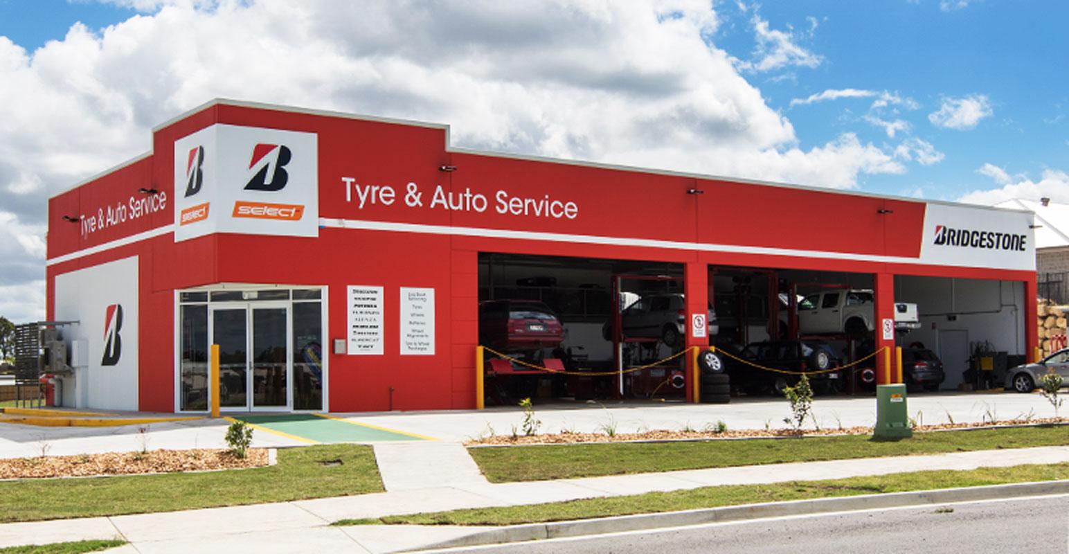 Bridgestone Tyre & Auto, Plainland