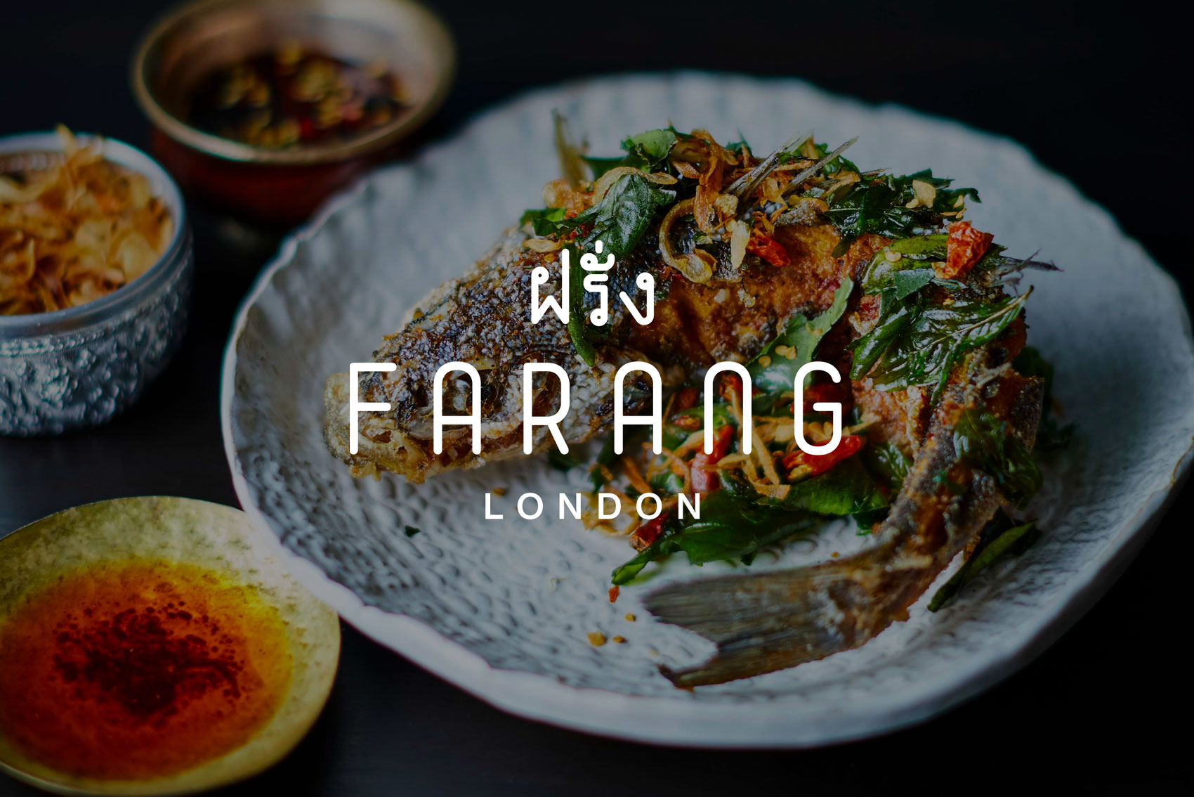Farang London - Refreshing the identity and website of this award-winning restaurantView project