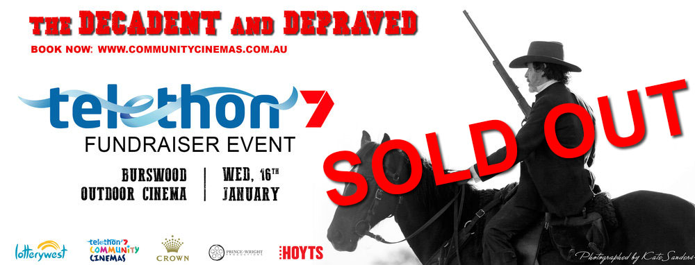 TELETHON FUNDRAISER SCREENING INCLUDES: MEET AND GREET, RED CARPET, Q&A AND MORE!   BOOK AT:  WWW.COMMUNITYCINEMAS.COM.AU