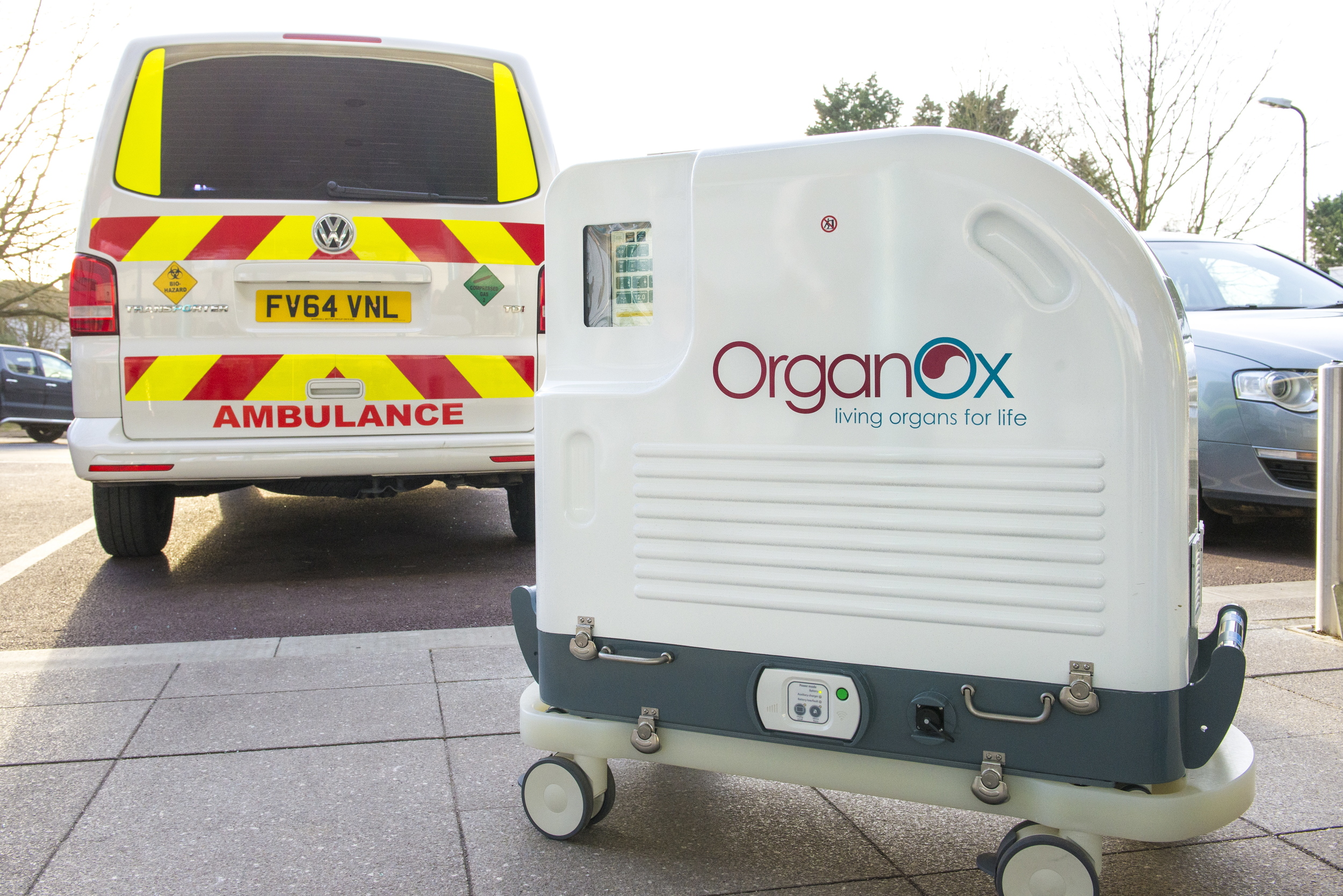 OrganOx metra | Liver transportation and liver perfusion