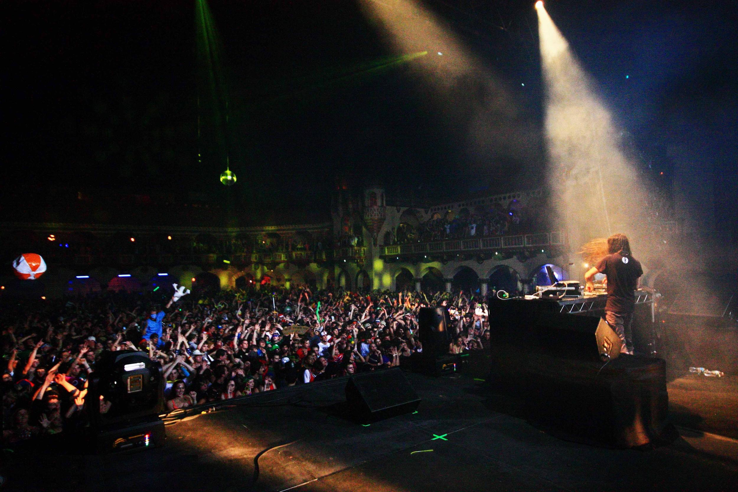 Bassnectar at Aragon 2012