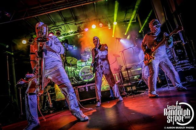 You heard right... this Friday, @HCTMummies is bringing that undead #FUNK to @ConcordHall w/ special guest @LuthiMusic! Lock in those tickets! ☠️ • • #HereComeTheMummies #Luthi #Chicago #ChicagoEvents #ChicagoMusic #ThingsDoToInChicago #ChicagoFunk #LoganSquare #FridayNight #Concert