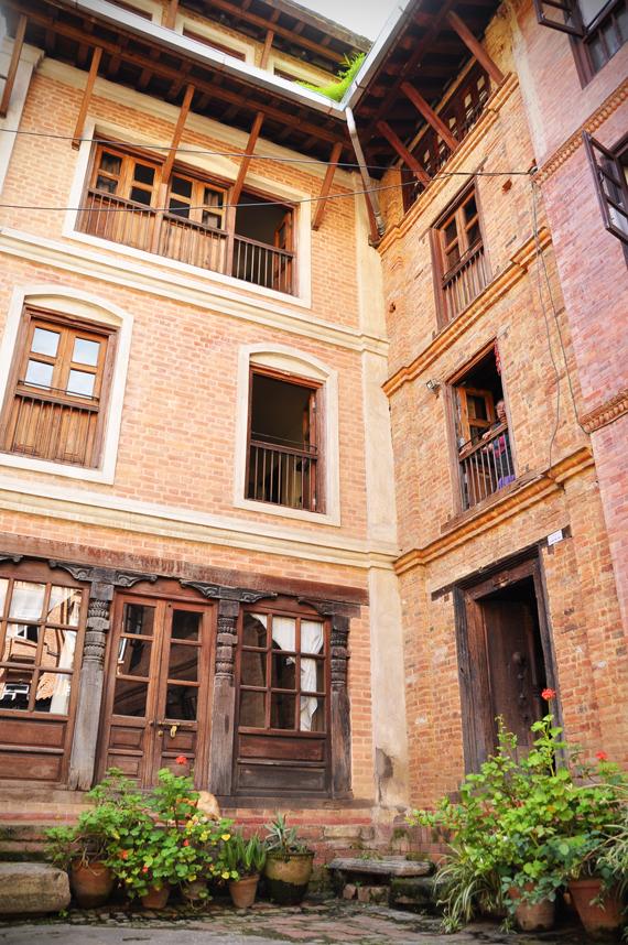 front facade of Yatachhen house