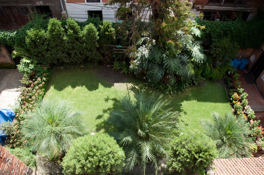 Beautiful Garden that can be seen from the bedroom's window.