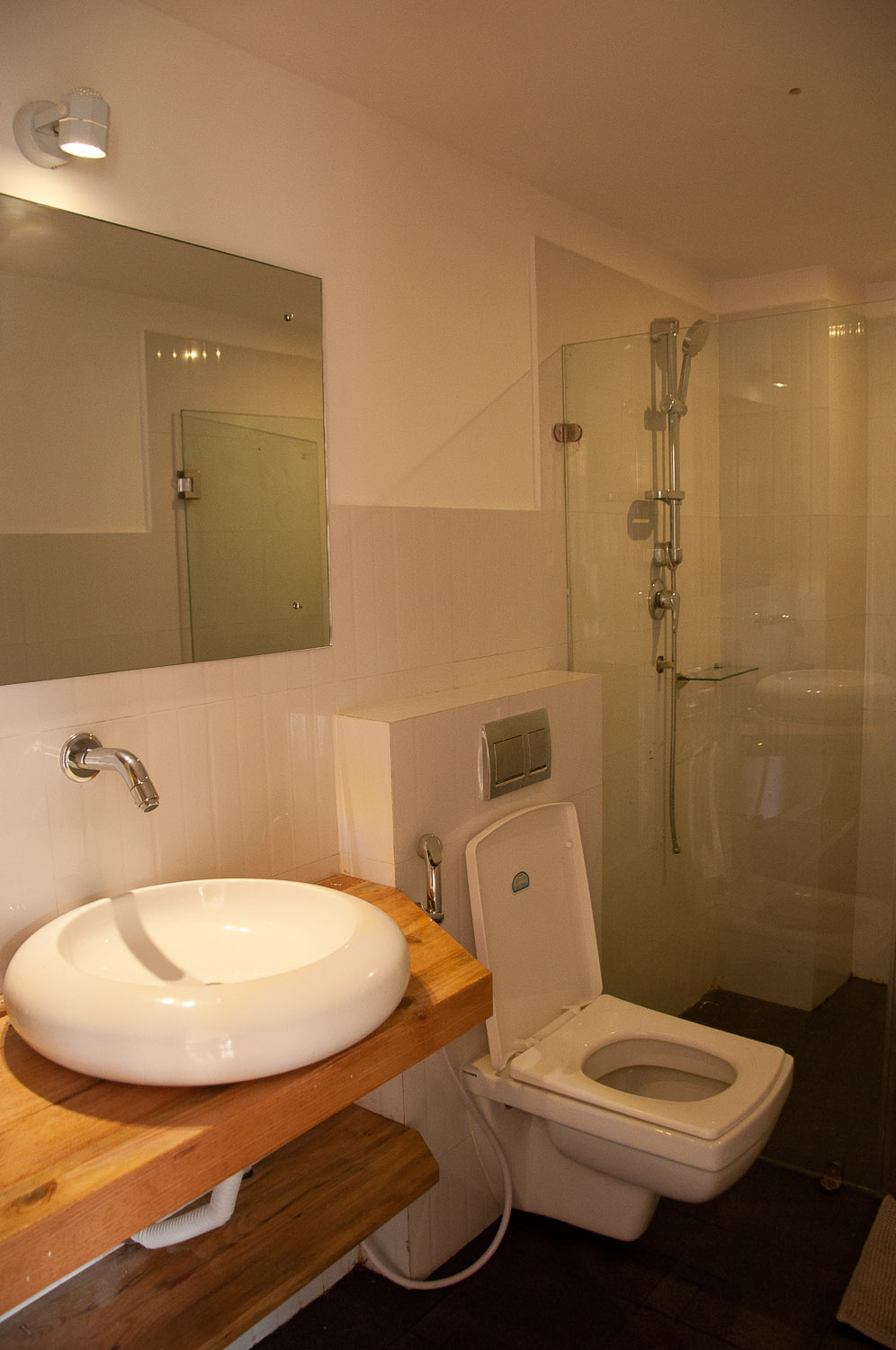 Each bedroom has its own private bathroom with hot water facility.