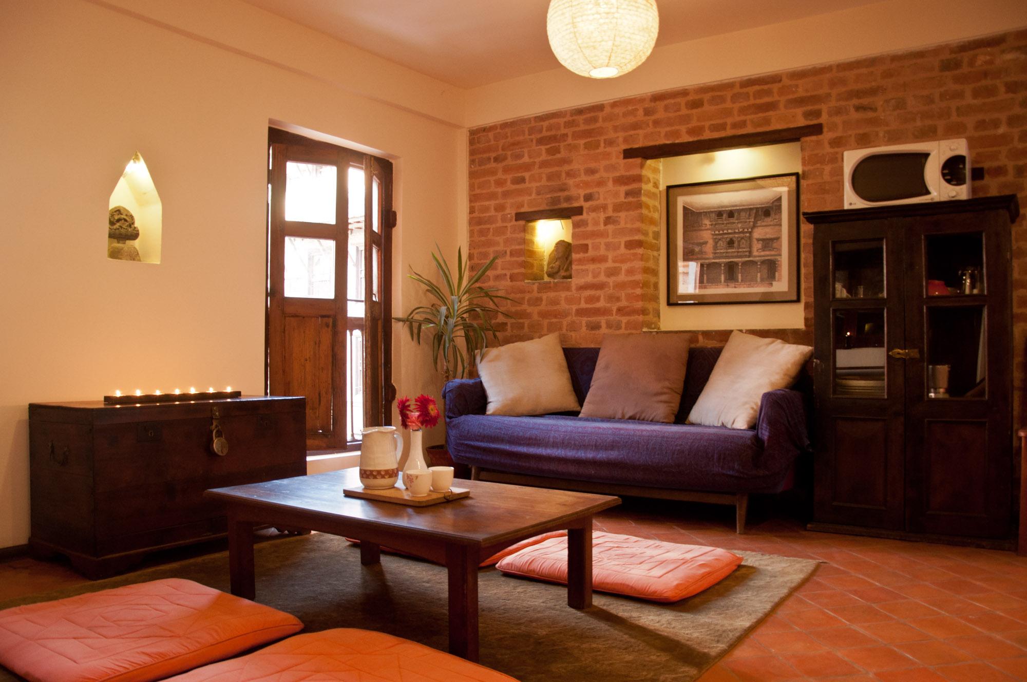 common kitchen plus living room