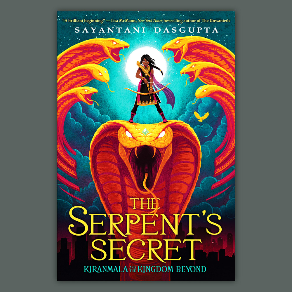 The Serpent's Secret - Illustration by Vivienne To