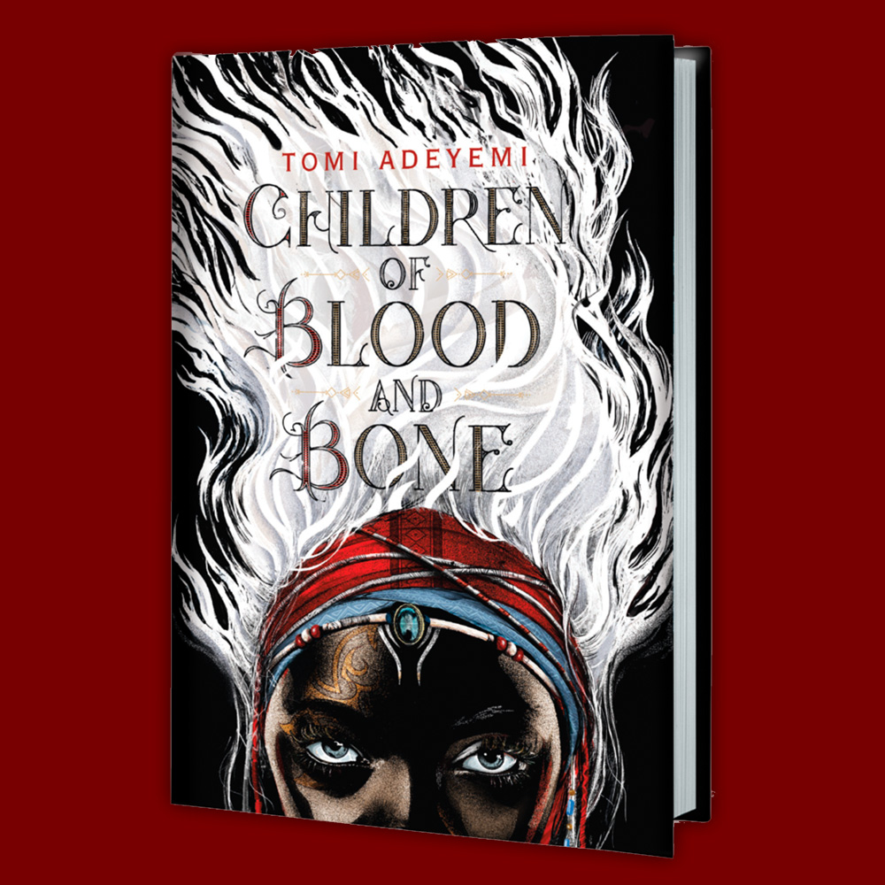 Children of Blood and Bone - Design and illustration by Rich Deas