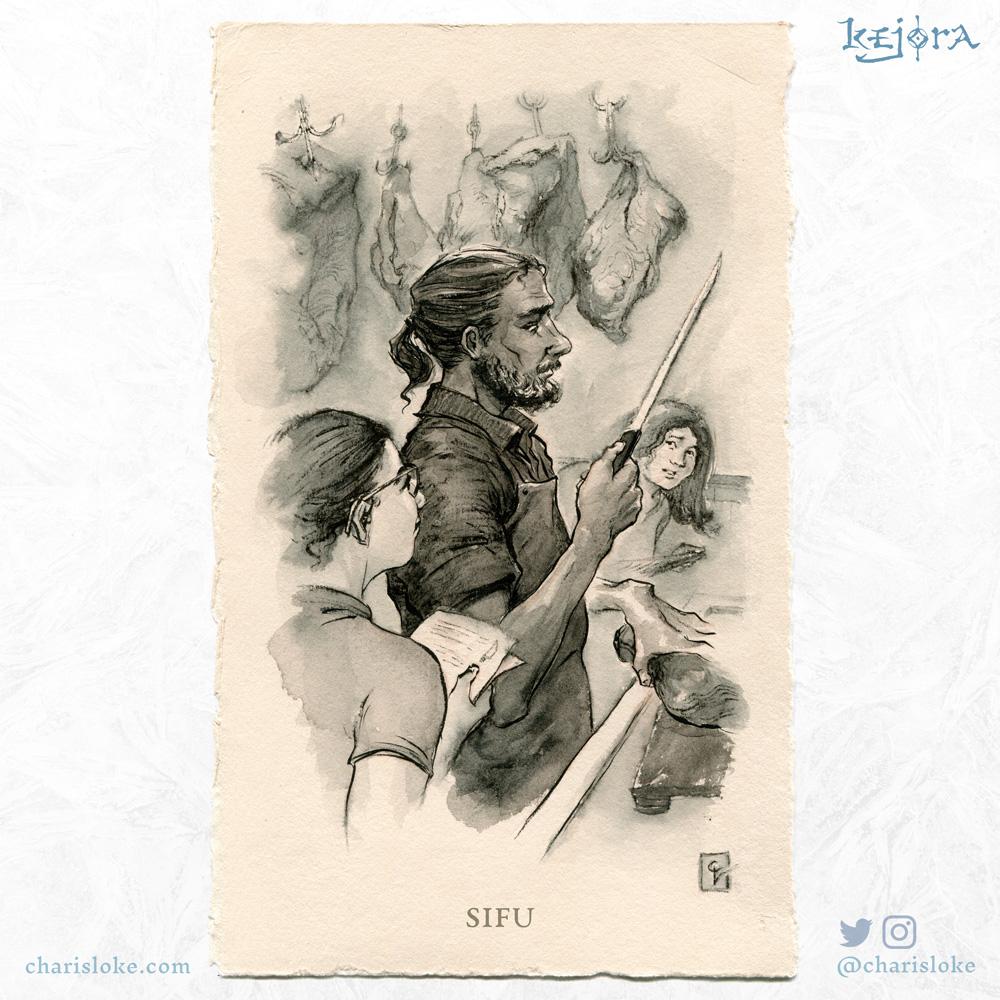 SIFU: A Kejora story about intergenerational wisdom.