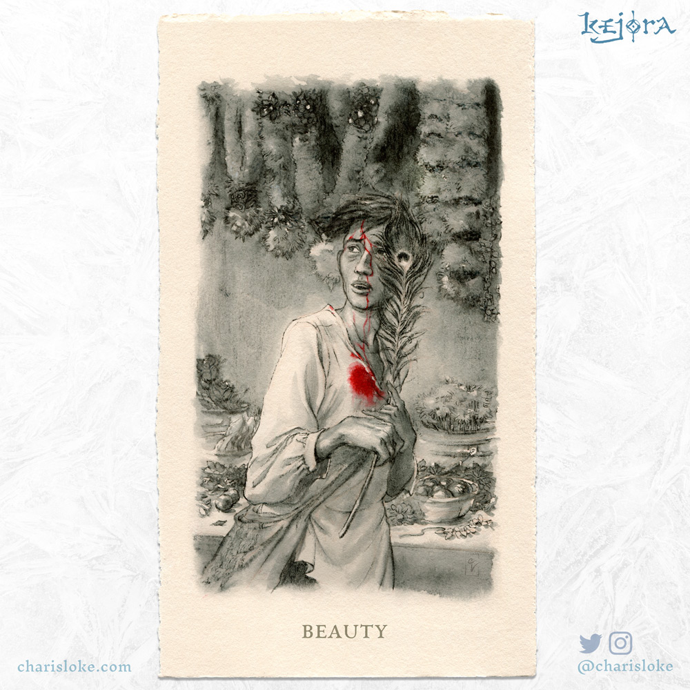 BEAUTY: a Kejora story about being different.