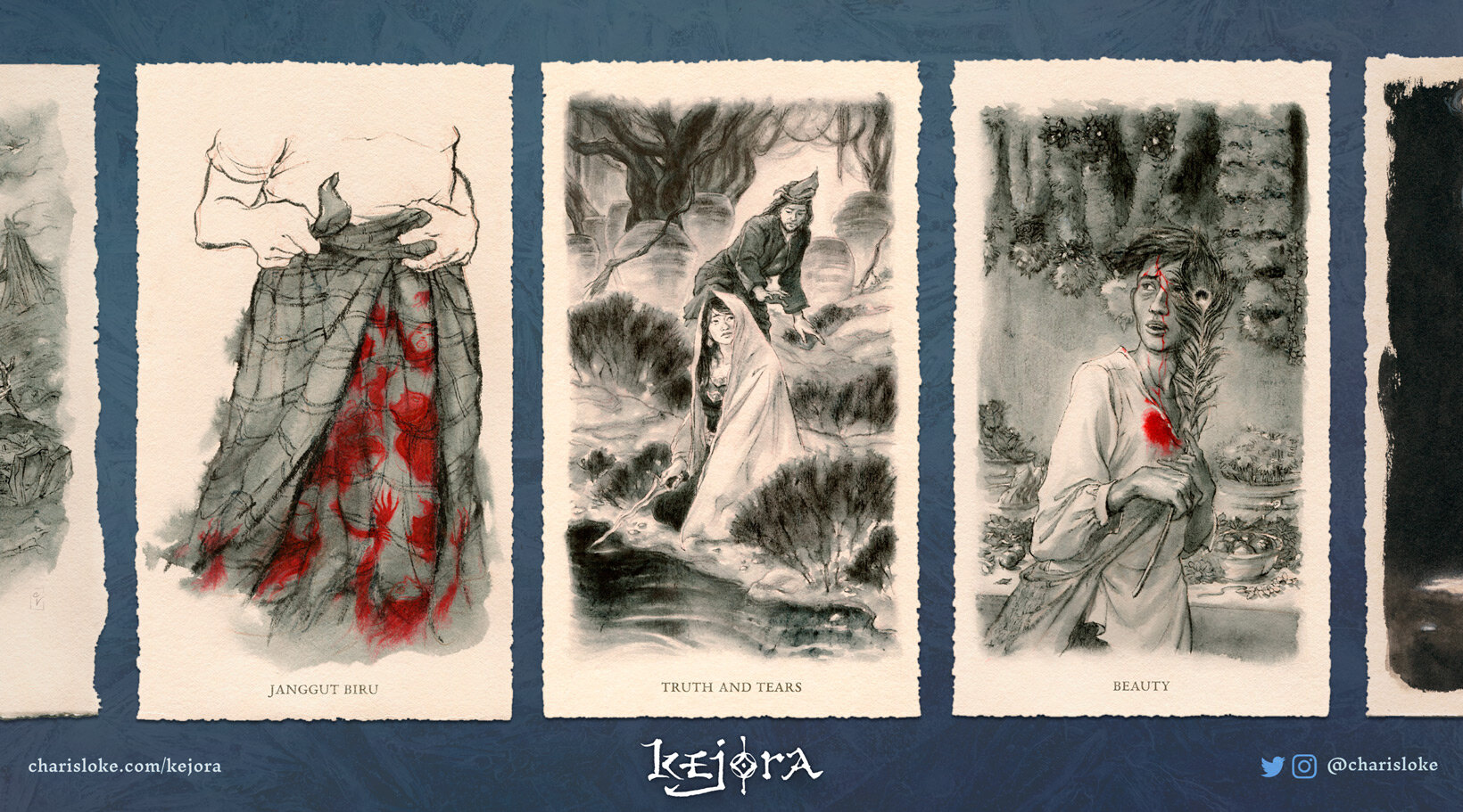 KEJORA:  writing and art  inspired by Southeast Asian cultures and realities.
