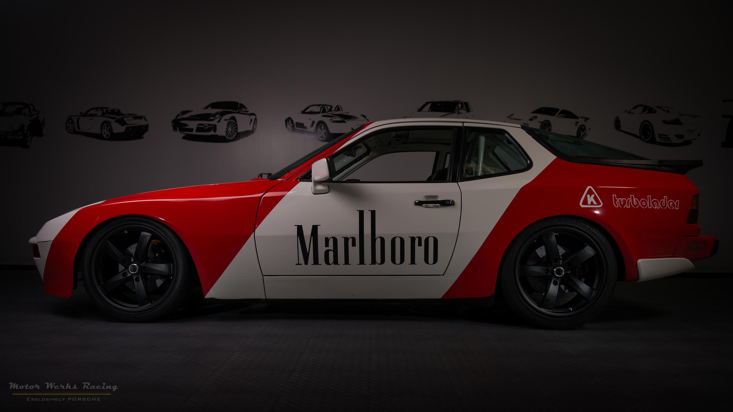 Porsche 944 Turbo Marlboro Tribute